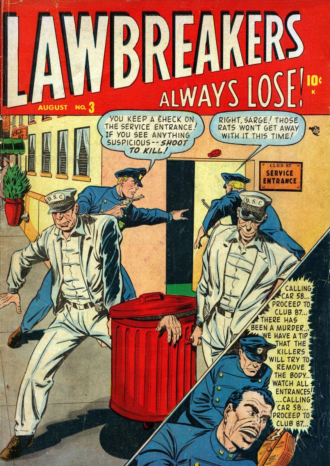 Lawbreakers Always Lose! 3 Page 1