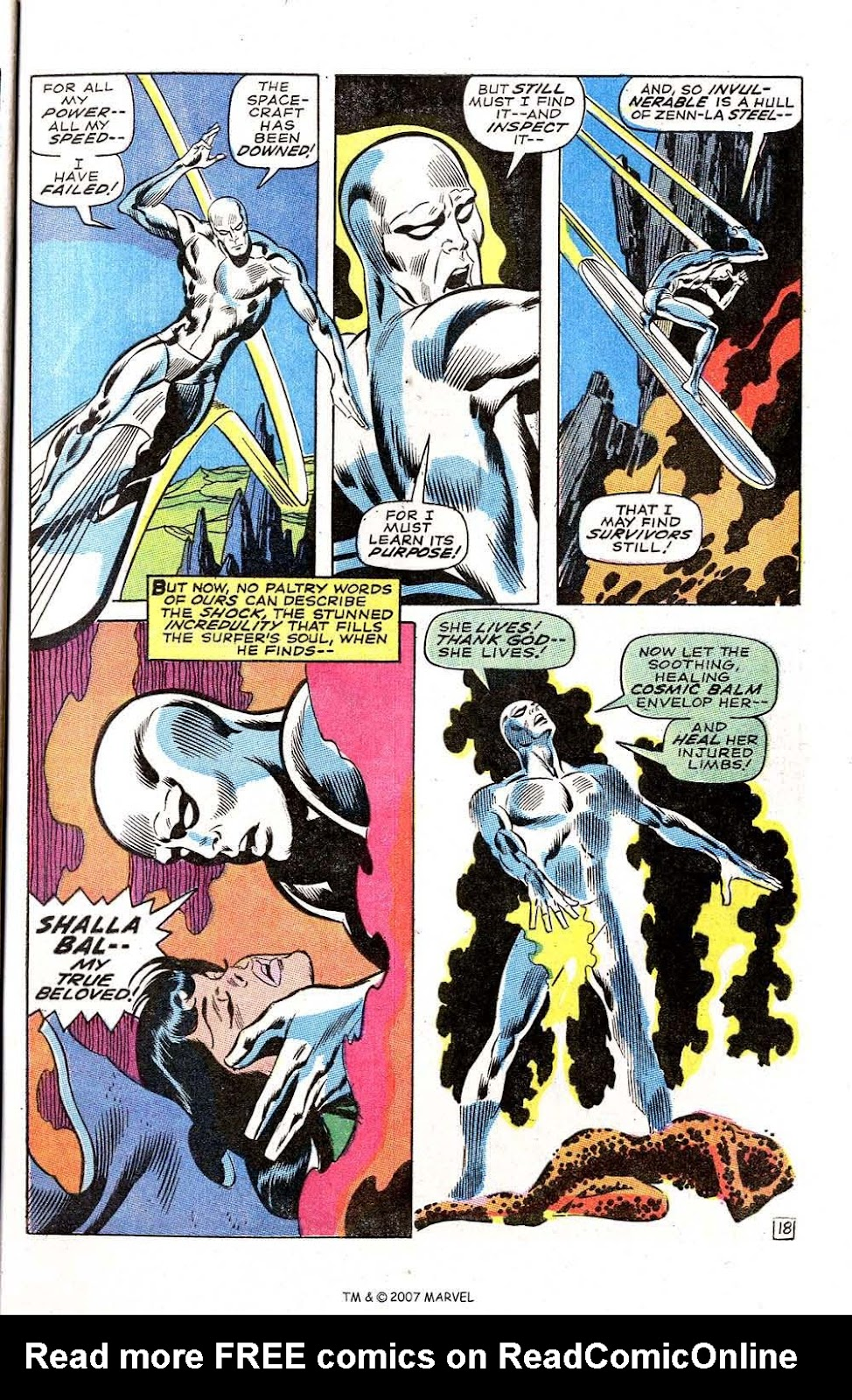 Silver Surfer (1968) issue 3 - Page 23