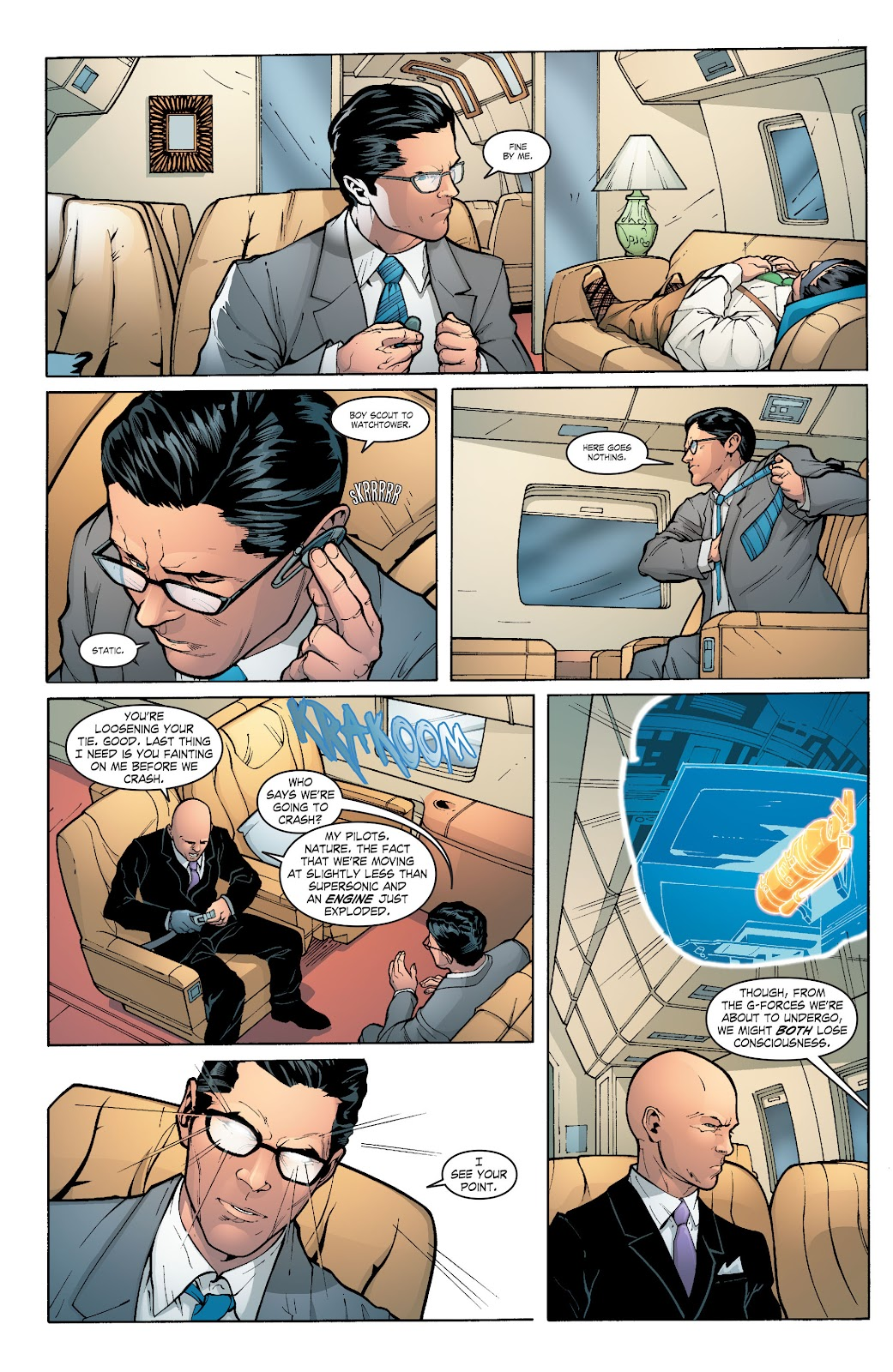 Read online Smallville Season 11 [II] comic -  Issue # TPB 6 - 76
