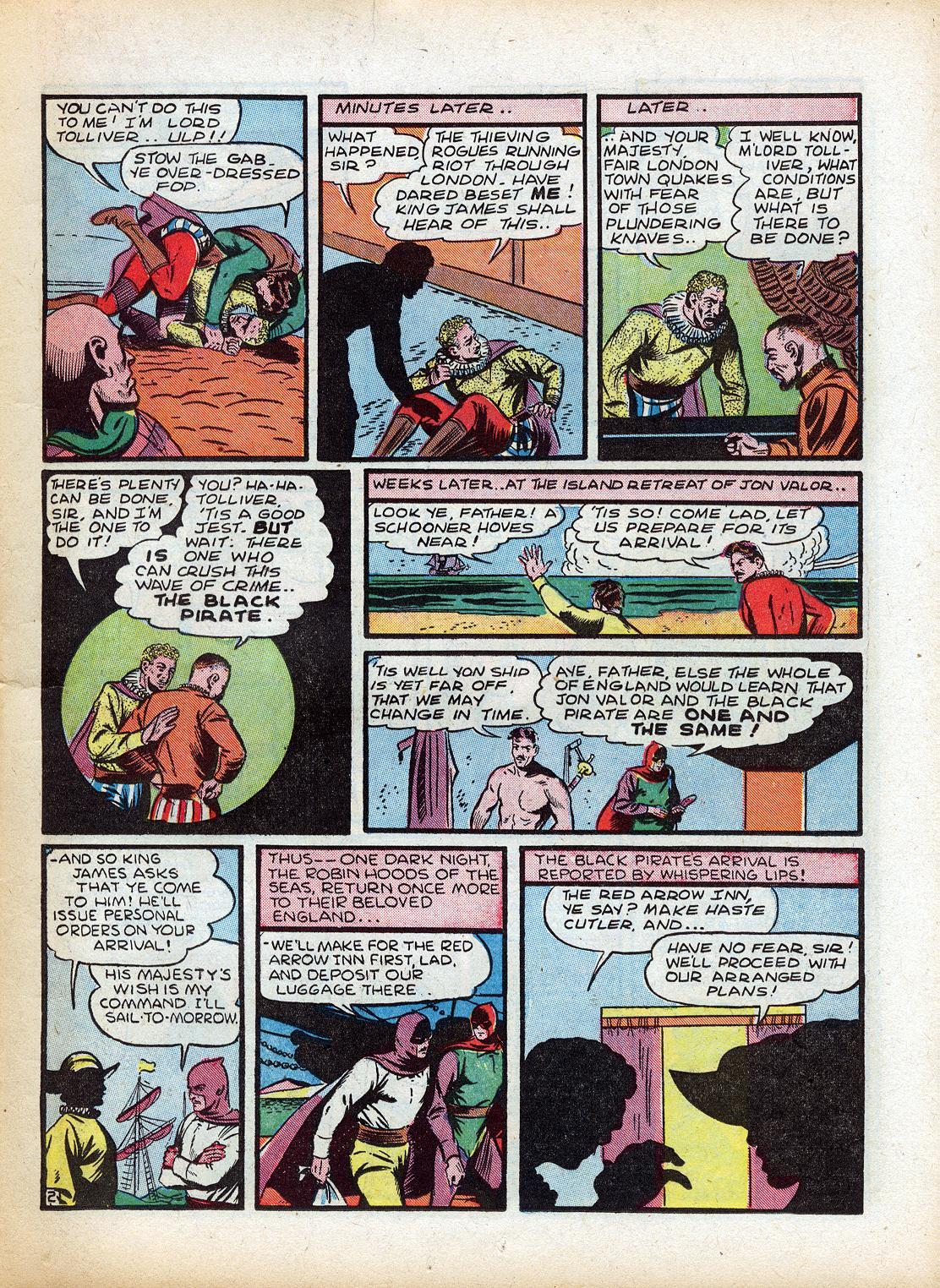 Read online Sensation (Mystery) Comics comic -  Issue #18 - 19