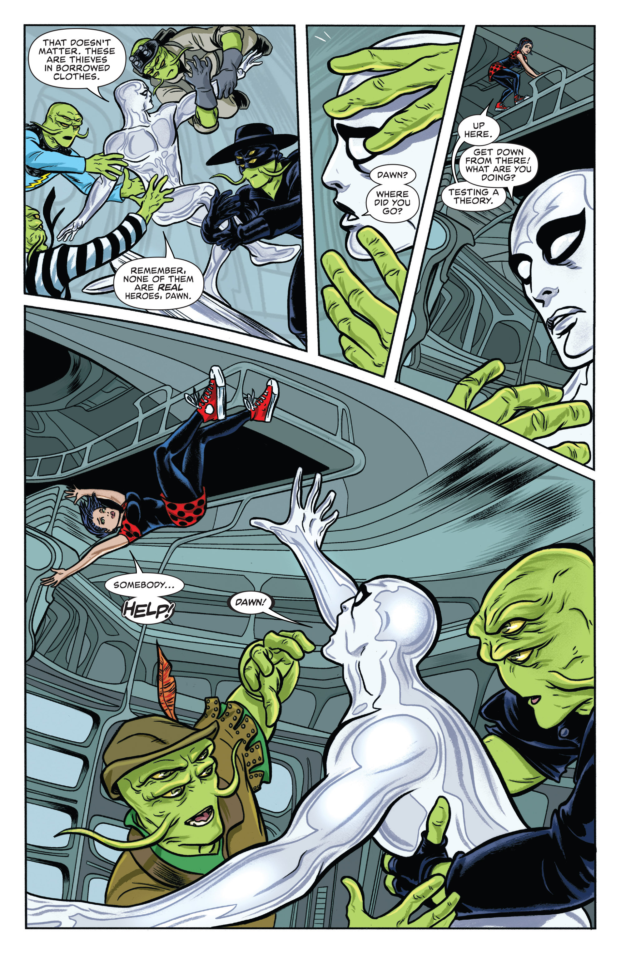 Read online Silver Surfer (2016) comic -  Issue #1 - 16