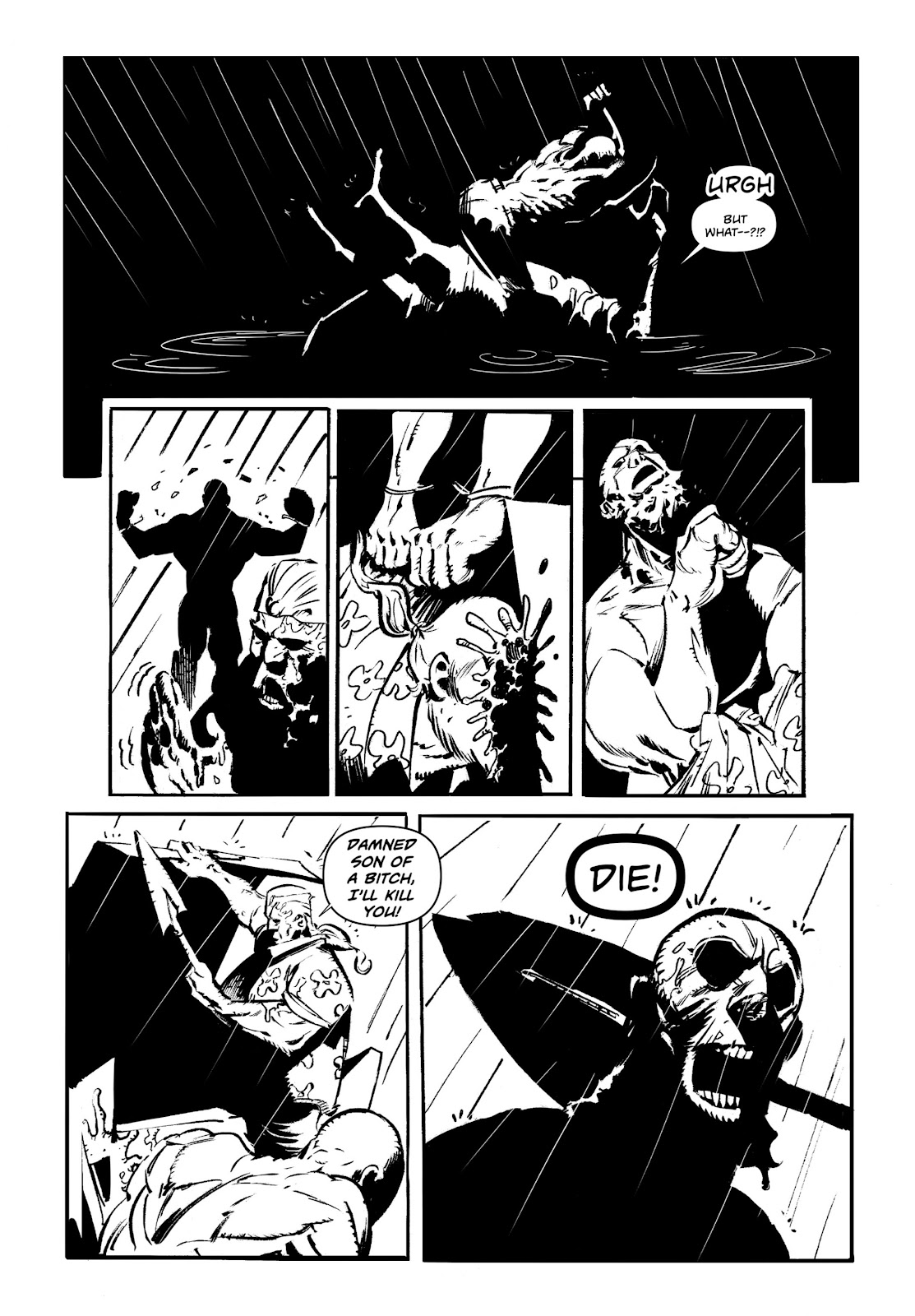 Read online Wrath of God comic -  Issue # _TPB - 52
