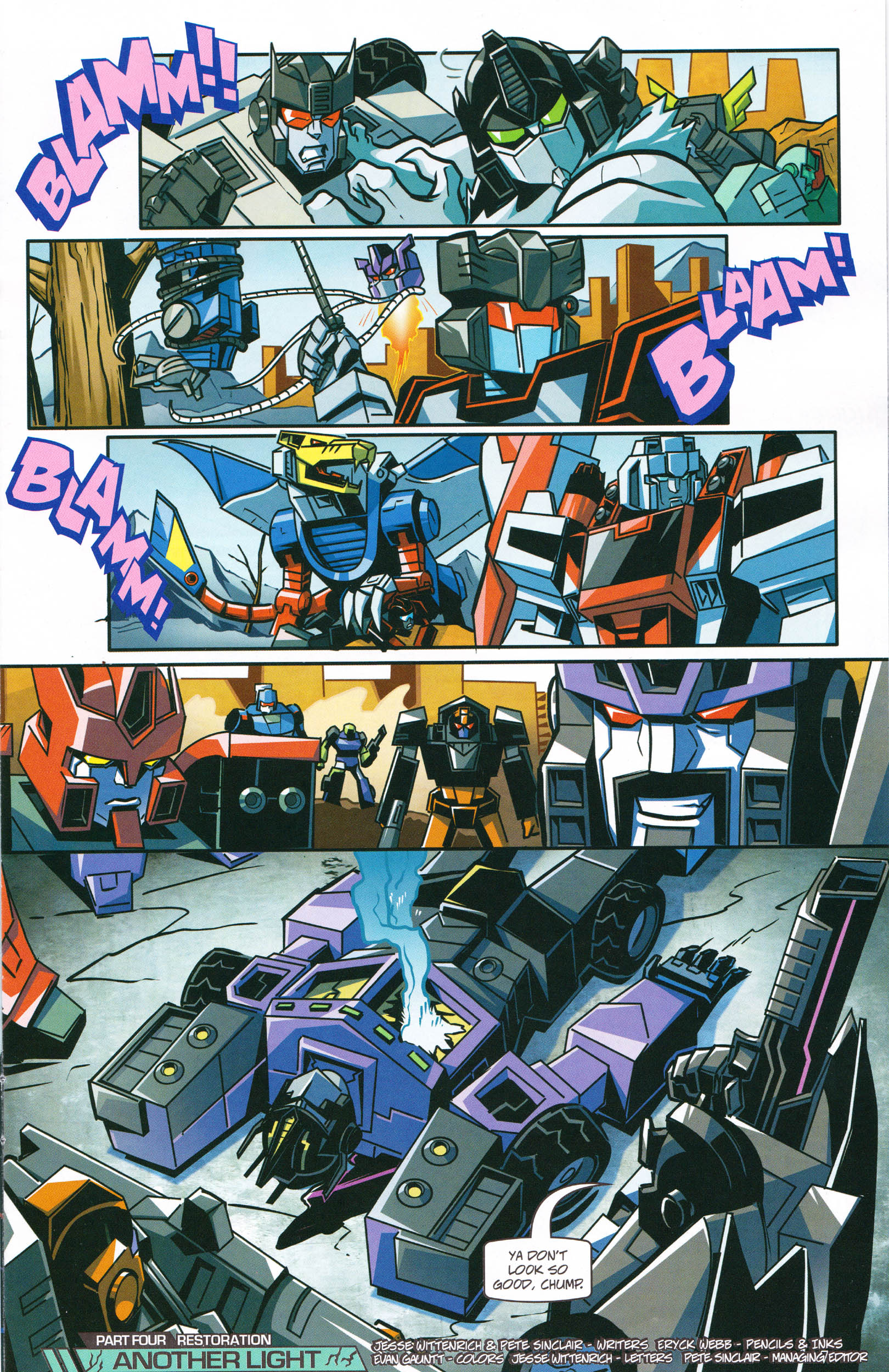Read online Transformers: Collectors' Club comic -  Issue #64 - 7