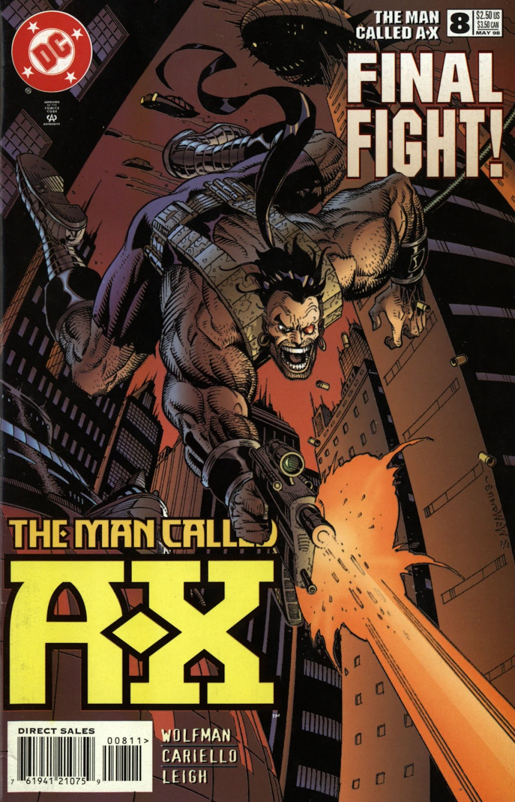 The Man Called A-X issue 8 - Page 1