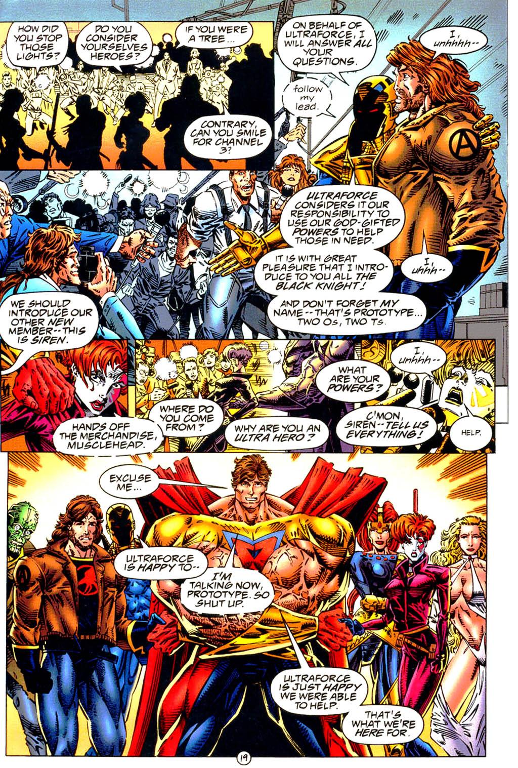 Read online UltraForce (1994) comic -  Issue #9 - 20