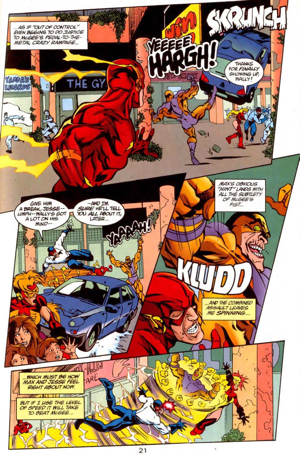 Read online The Flash (1987) comic -  Issue # _Annual 11 - 22
