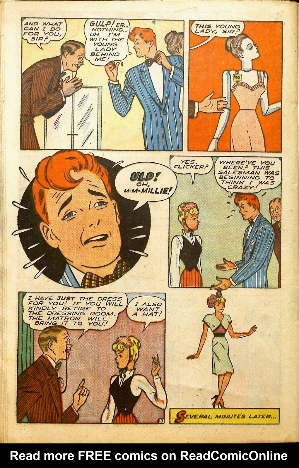 Read online Millie the Model comic -  Issue #2 - 30