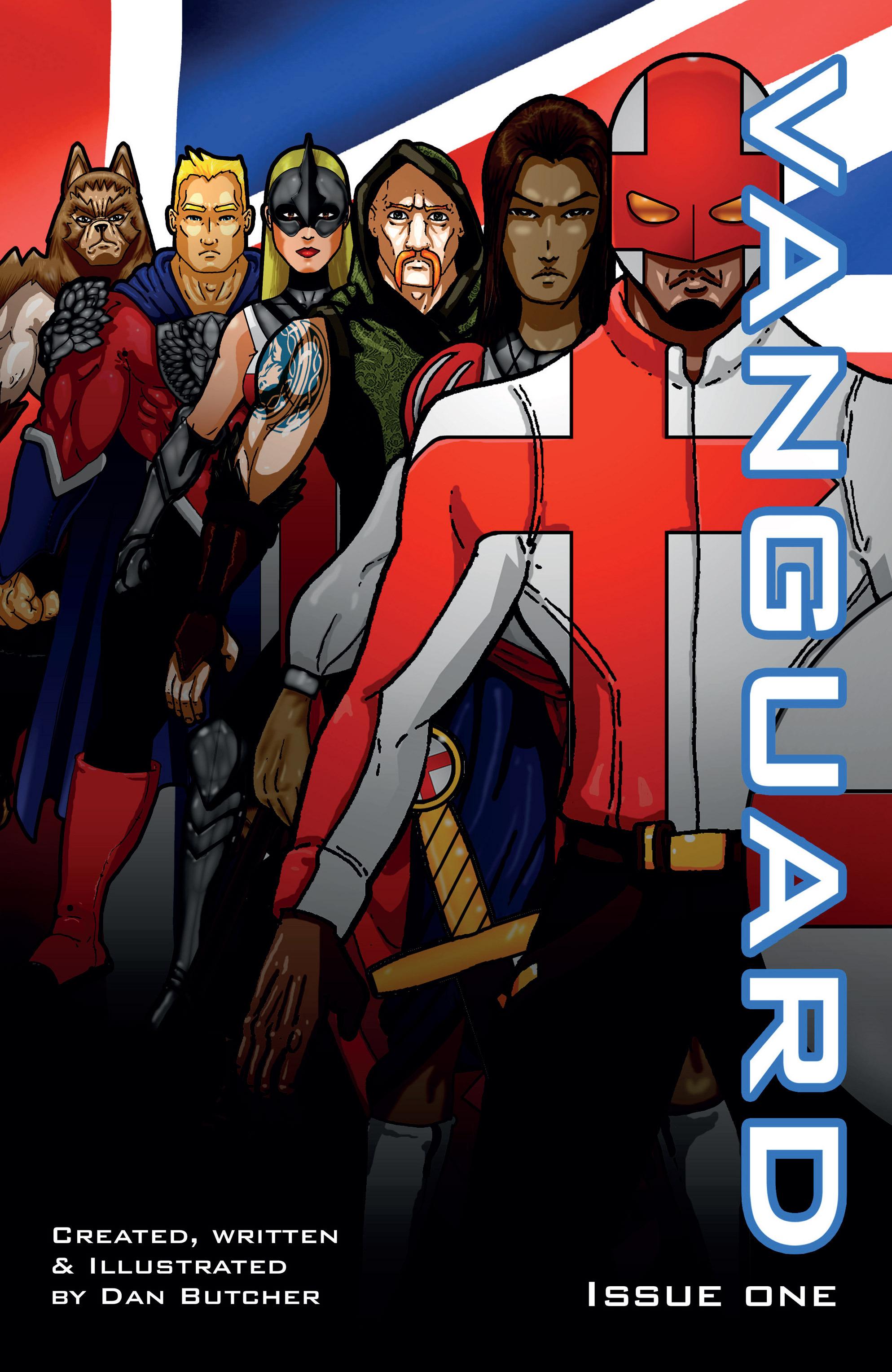 Read online Vanguard (2015) comic -  Issue #1 - 1