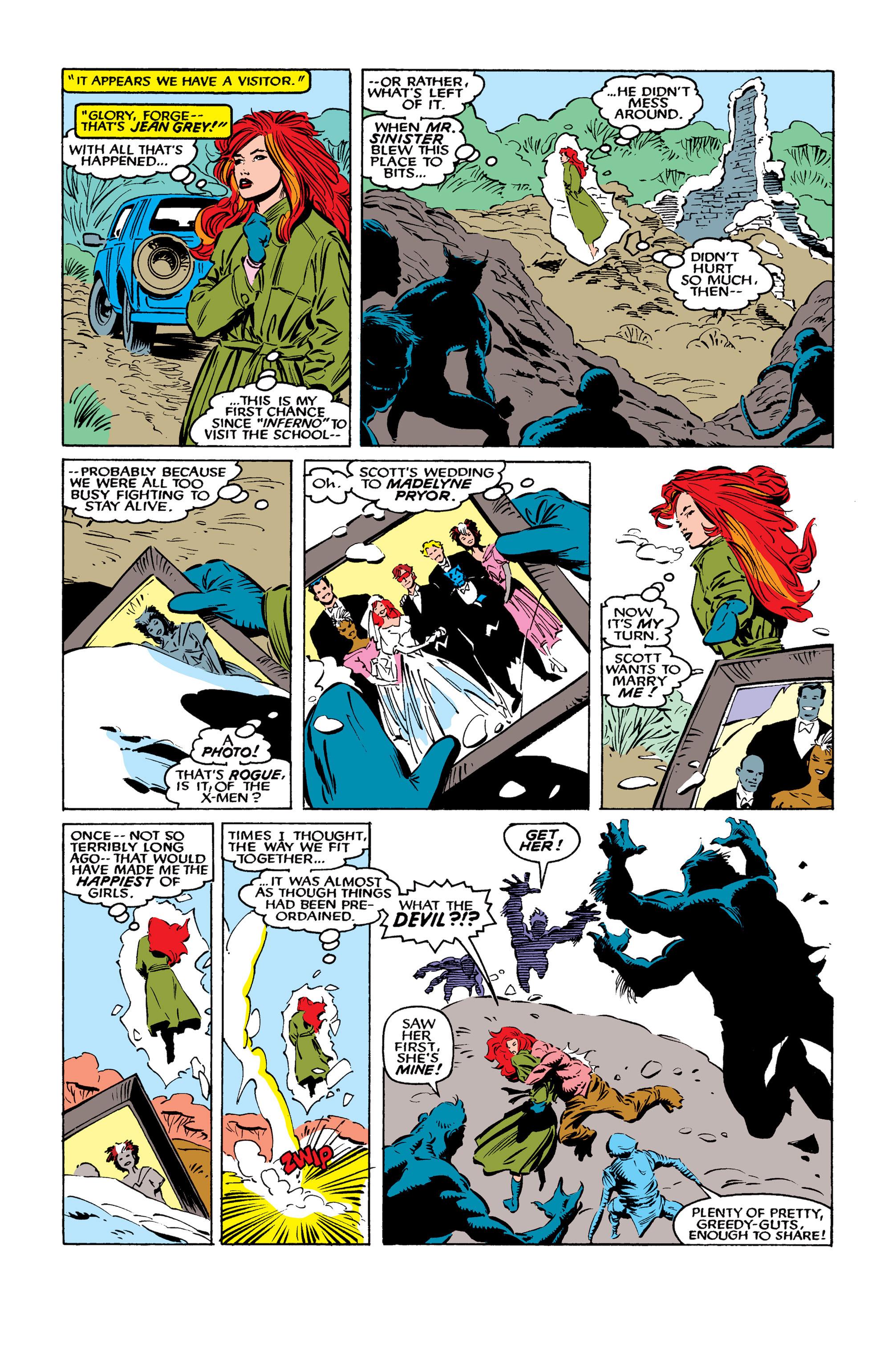 Read online Uncanny X-Men (1963) comic -  Issue #261 - 11