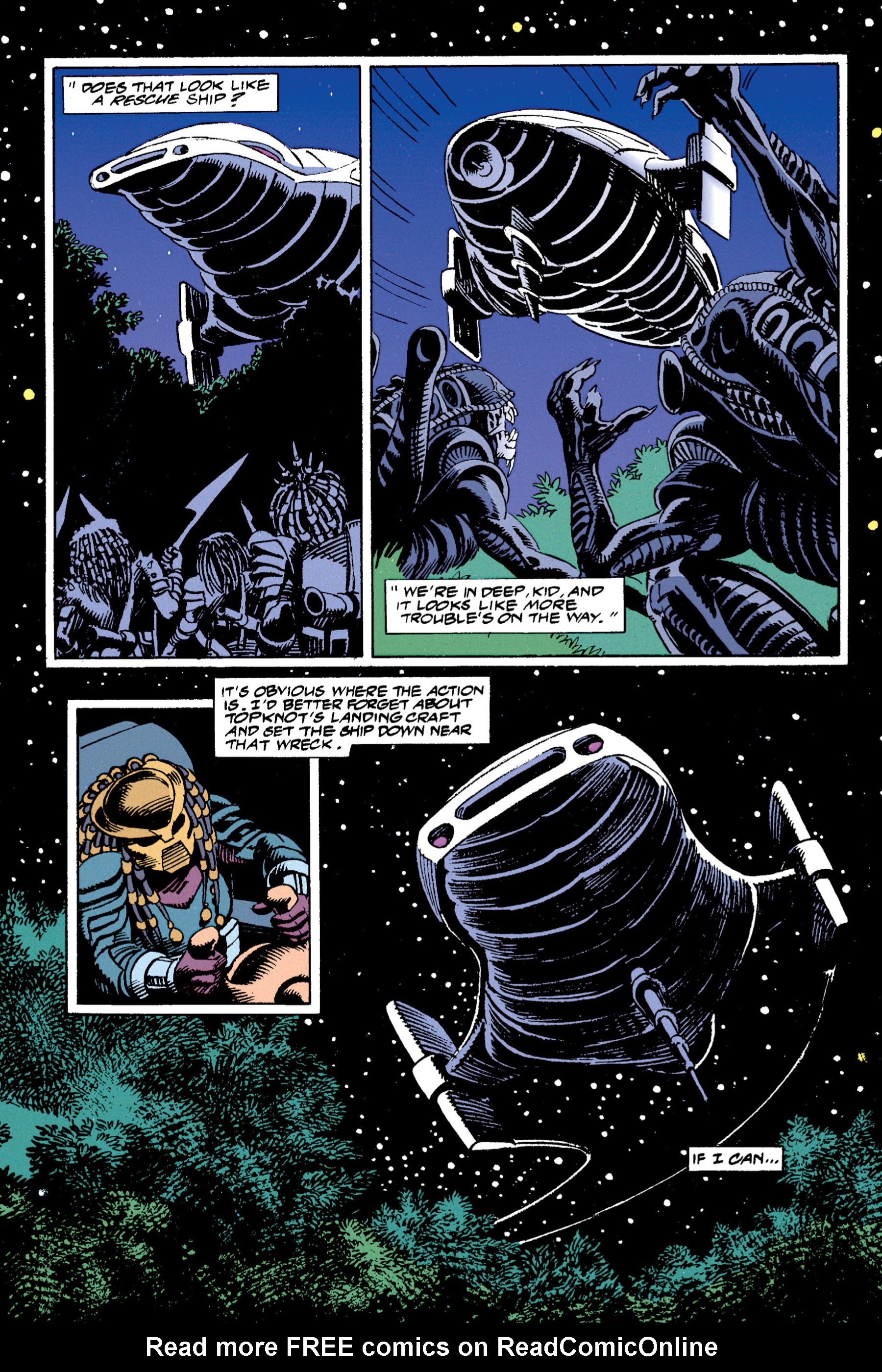 Read online Aliens vs. Predator Omnibus comic -  Issue # _TPB 1 Part 4 - 6