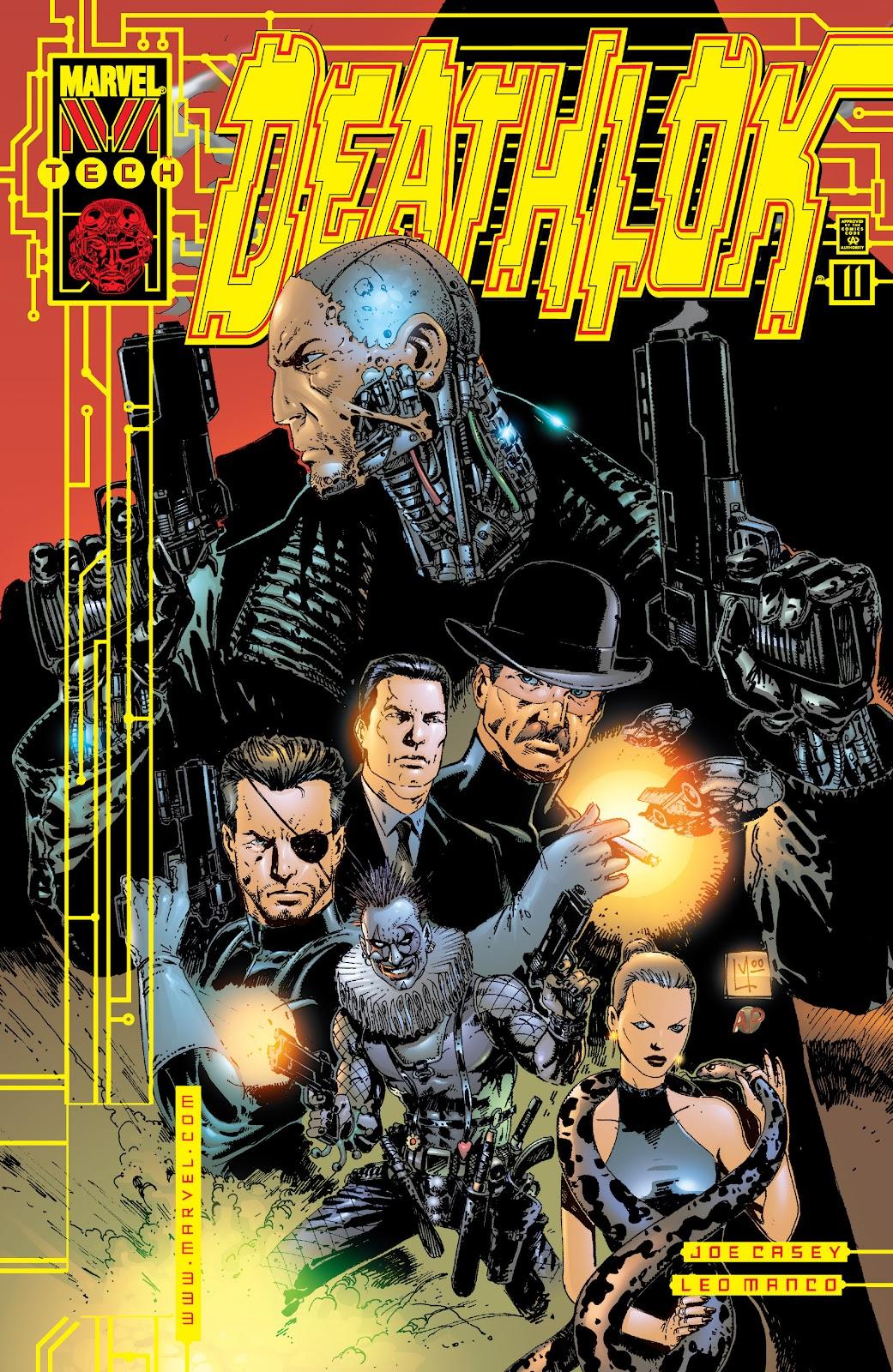 Deathlok (1999) issue 11 - Page 1