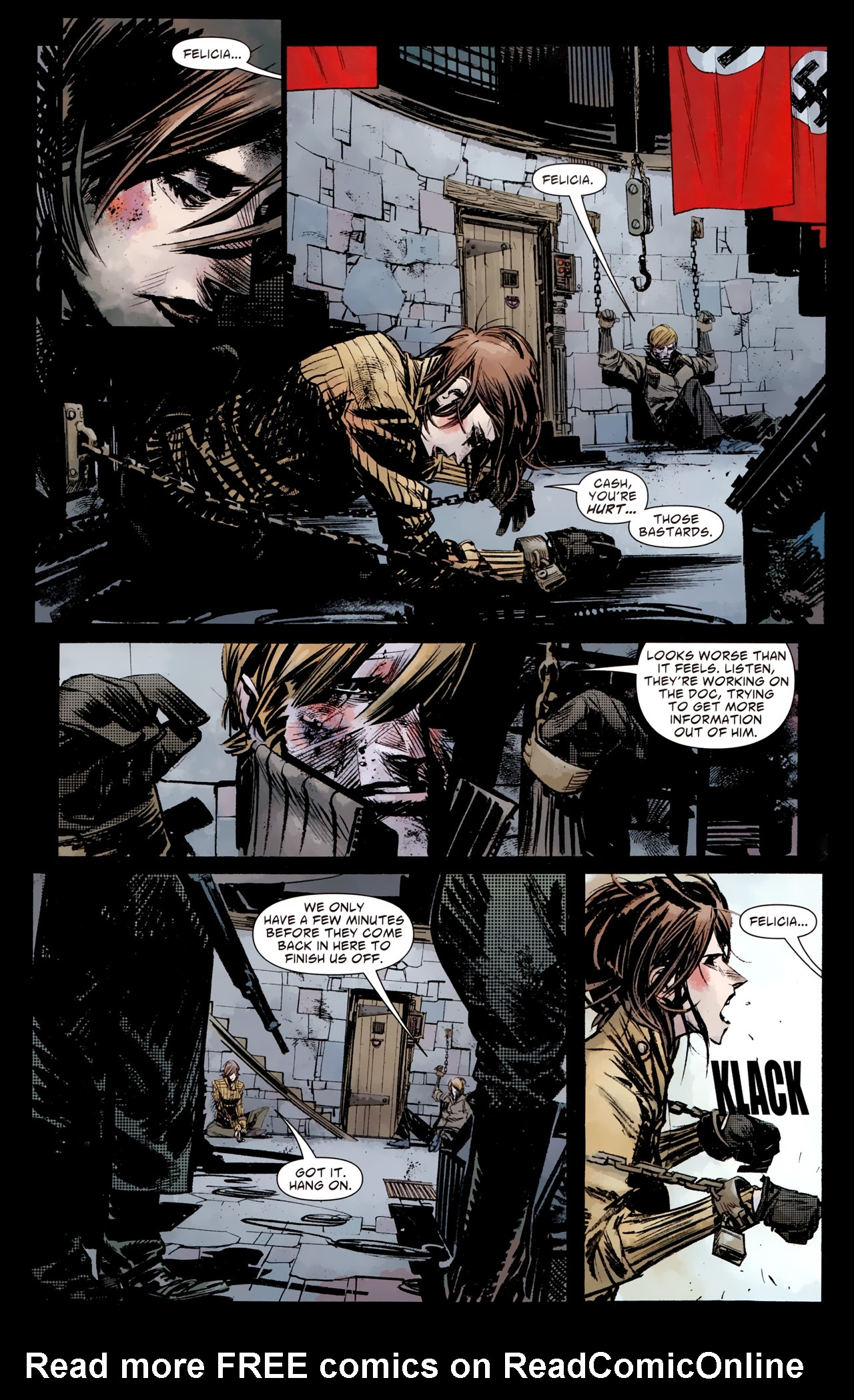 Read online American Vampire: Survival of the Fittest comic -  Issue #4 - 12