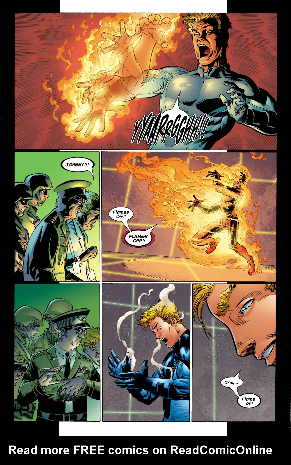 Read online Ultimate Fantastic Four (2004) comic -  Issue #4 - 4