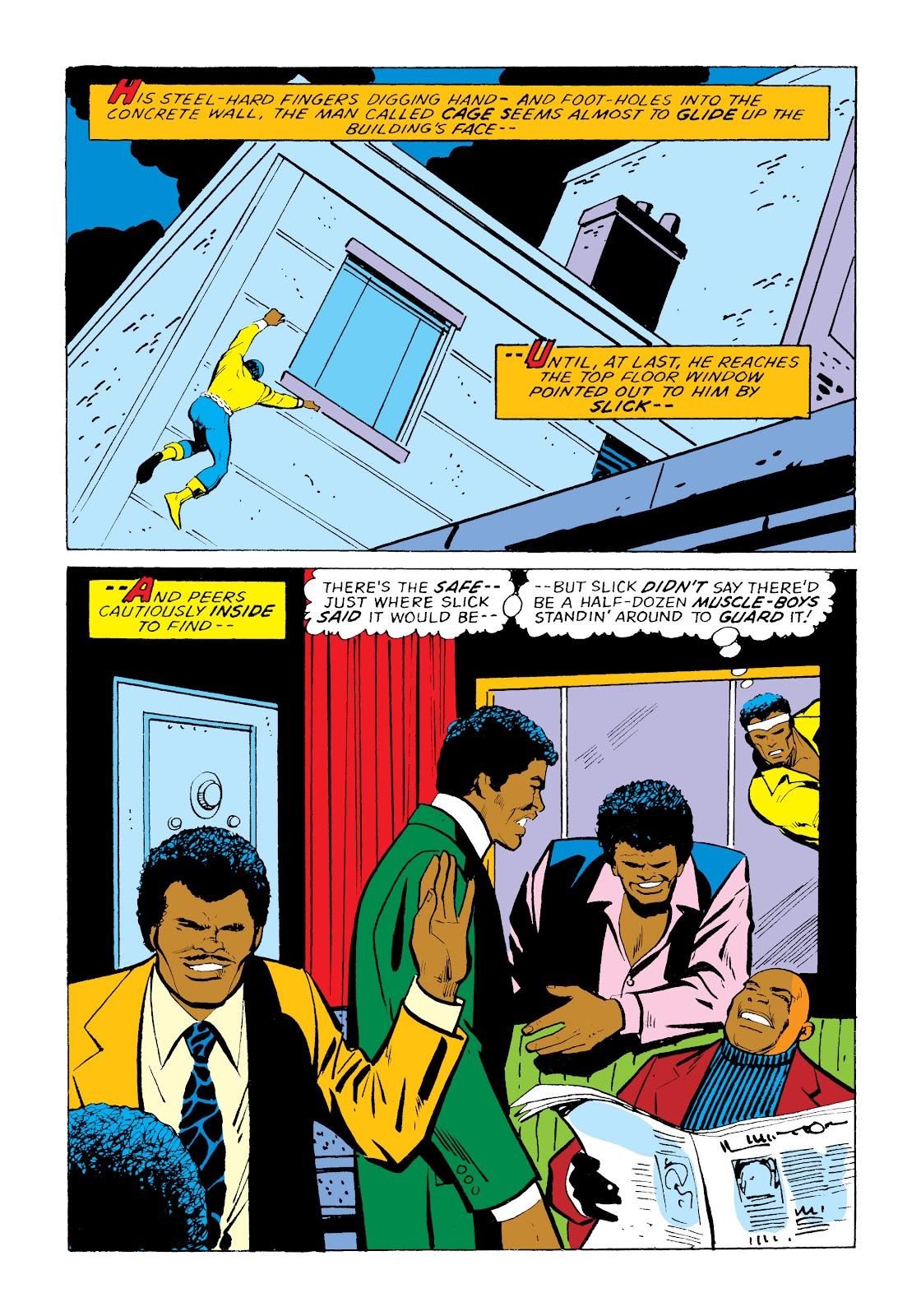 Read online Marvel Masterworks: Luke Cage, Power Man comic -  Issue # TPB 2 (Part 1) - 63