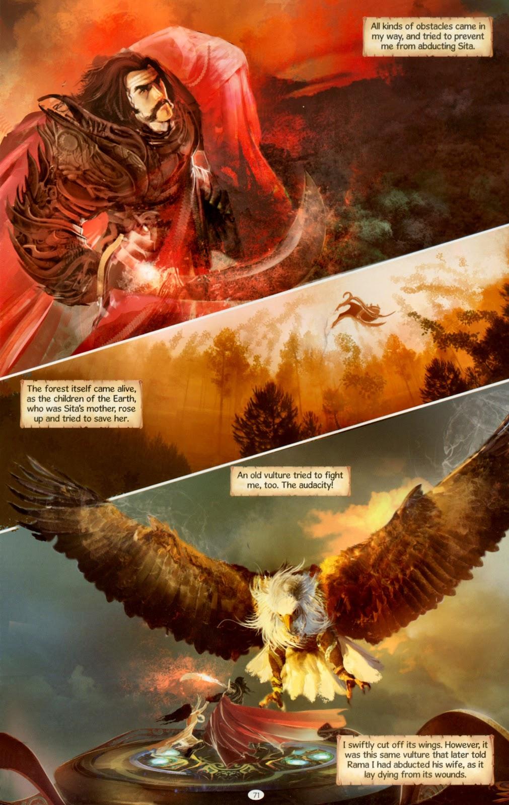 Comic Ravana: Roar of the Demon King issue 1