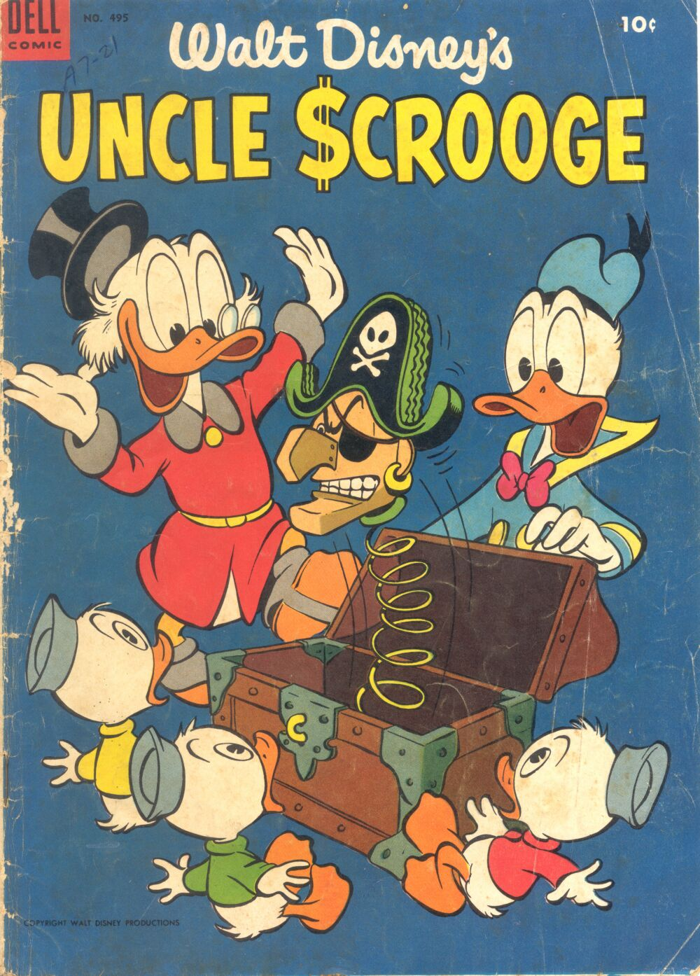 Read online Uncle Scrooge (1953) comic -  Issue #3 - 1