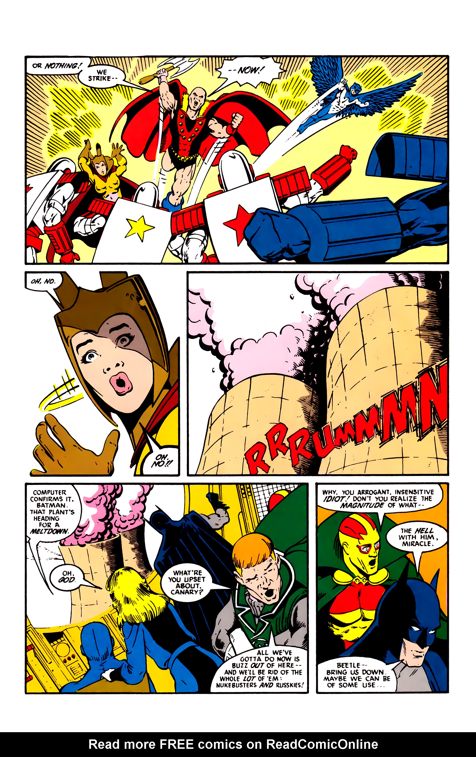 Read online Justice League (1987) comic -  Issue #3 - 19