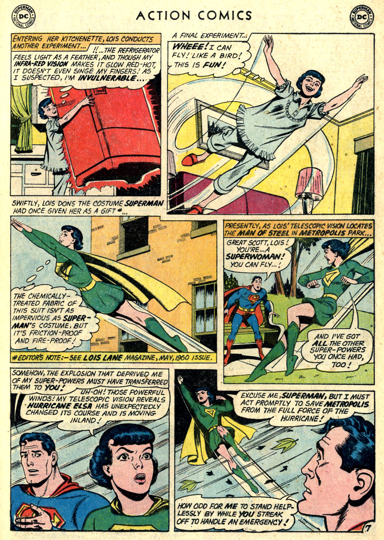 Read online Action Comics (1938) comic -  Issue #274 - 9