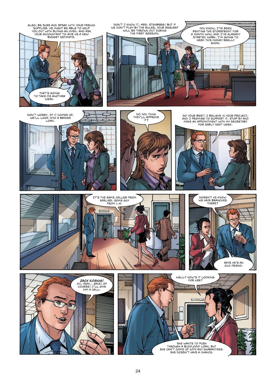 Read online Vigilantes comic -  Issue #1 - 24