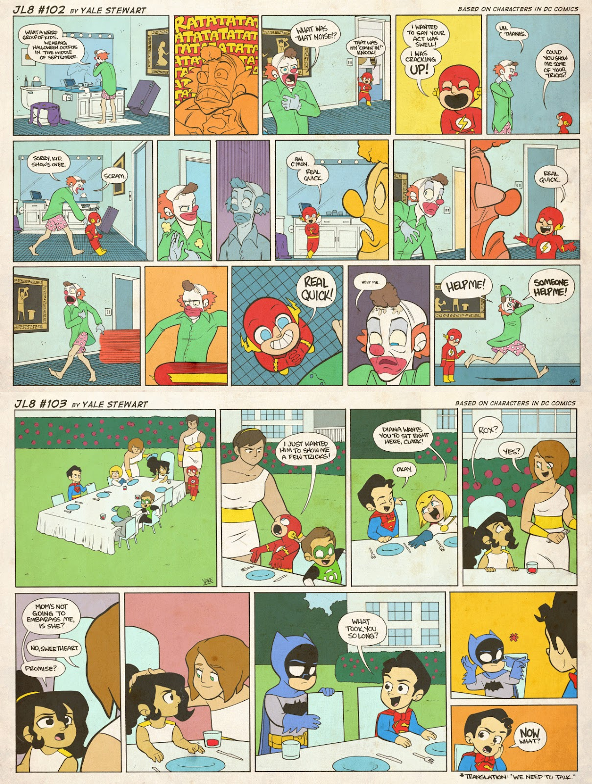 Read online JL8 – The Complete Collection comic -  Issue # TPB (Part 1) - 48