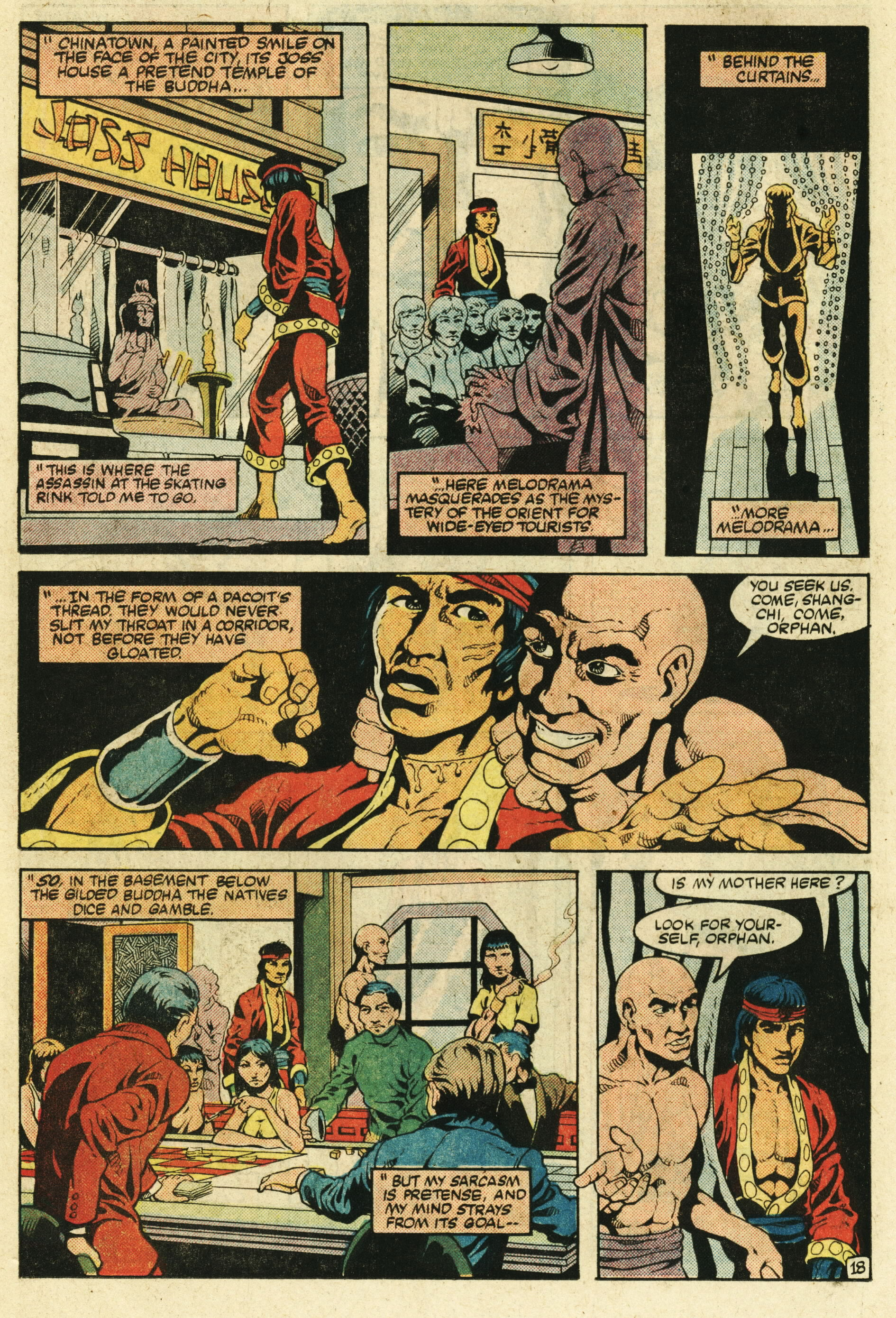 Read online Master of Kung Fu (1974) comic -  Issue #123 - 19