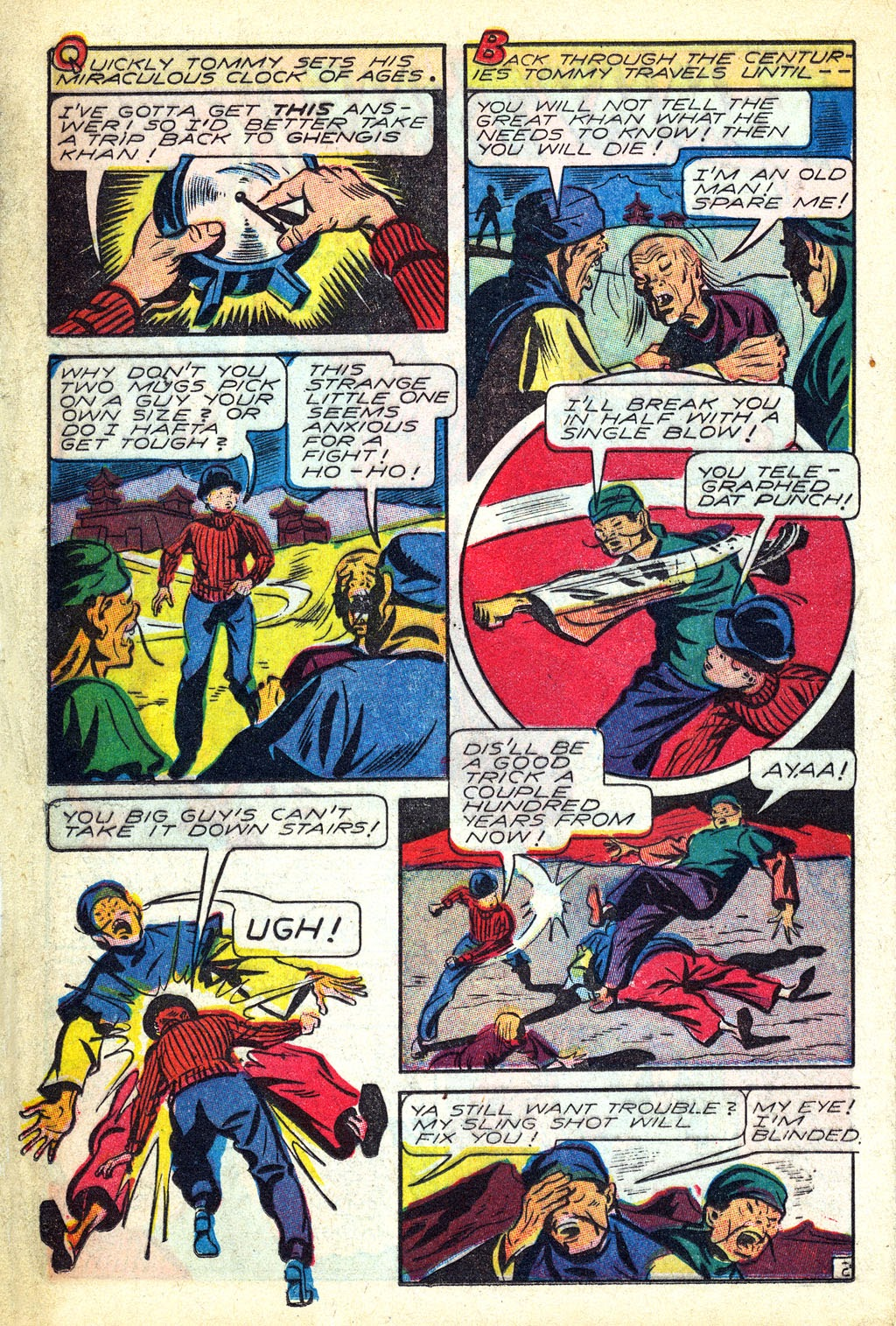 Read online Mystic Comics (1944) comic -  Issue #3 - 20