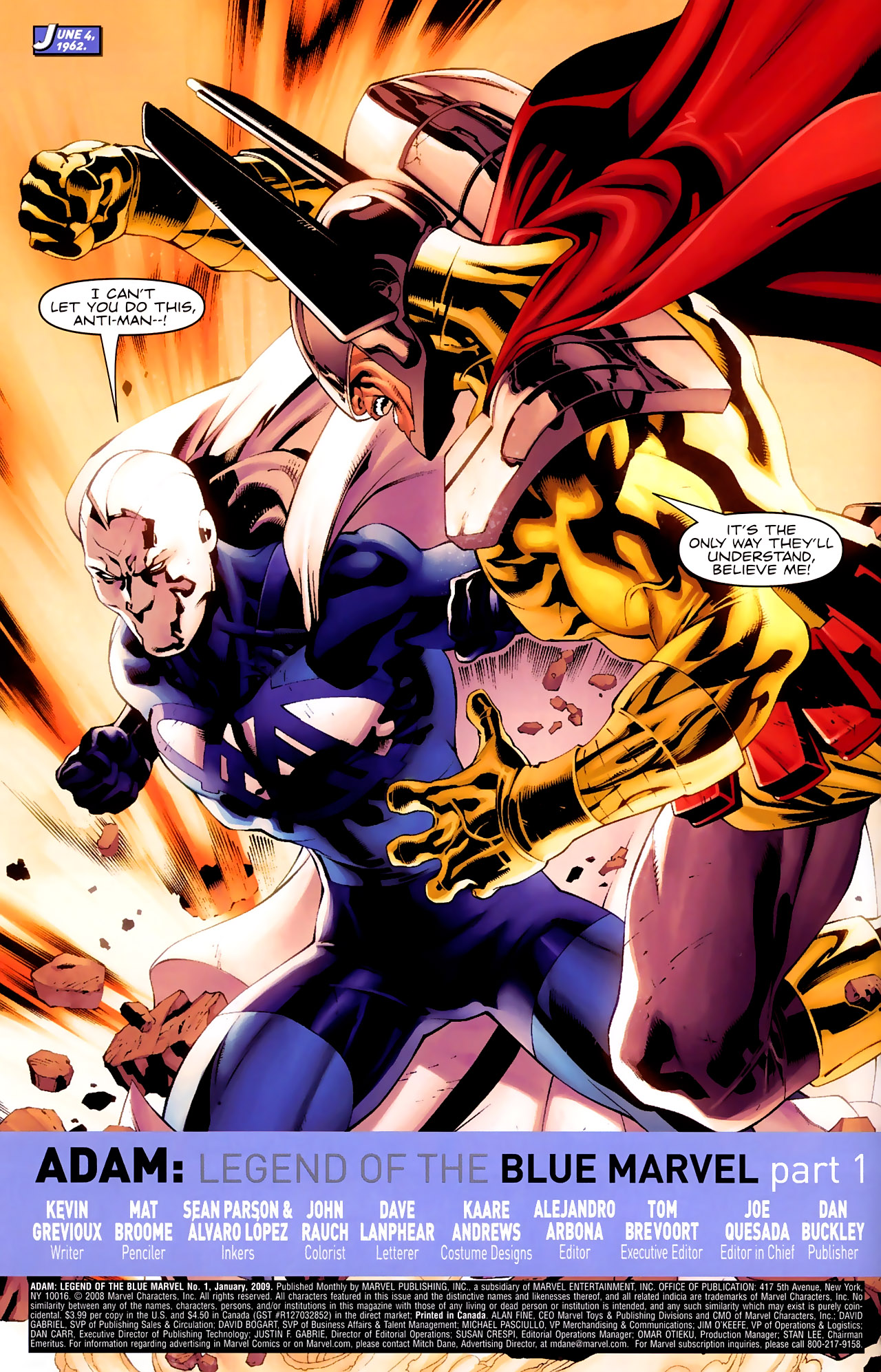 Read online Adam: Legend of the Blue Marvel comic -  Issue #1 - 7
