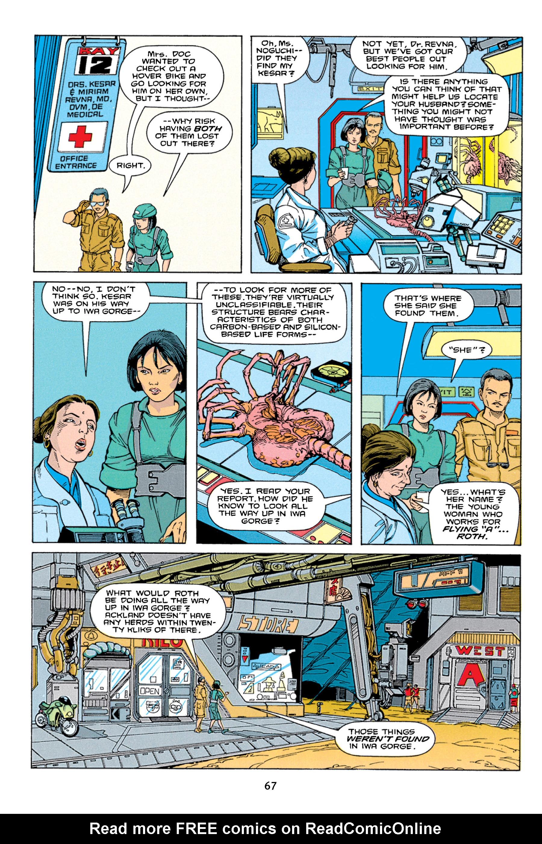 Read online Aliens vs. Predator Omnibus comic -  Issue # _TPB 1 Part 1 - 67