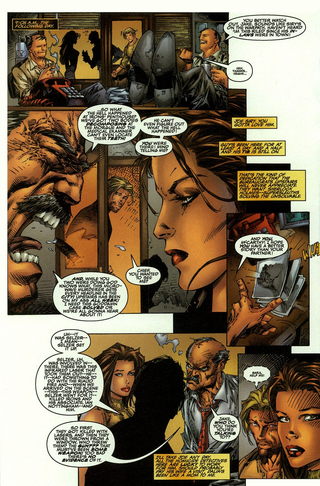 Read online The Darkness (1996) comic -  Issue #0 - 9