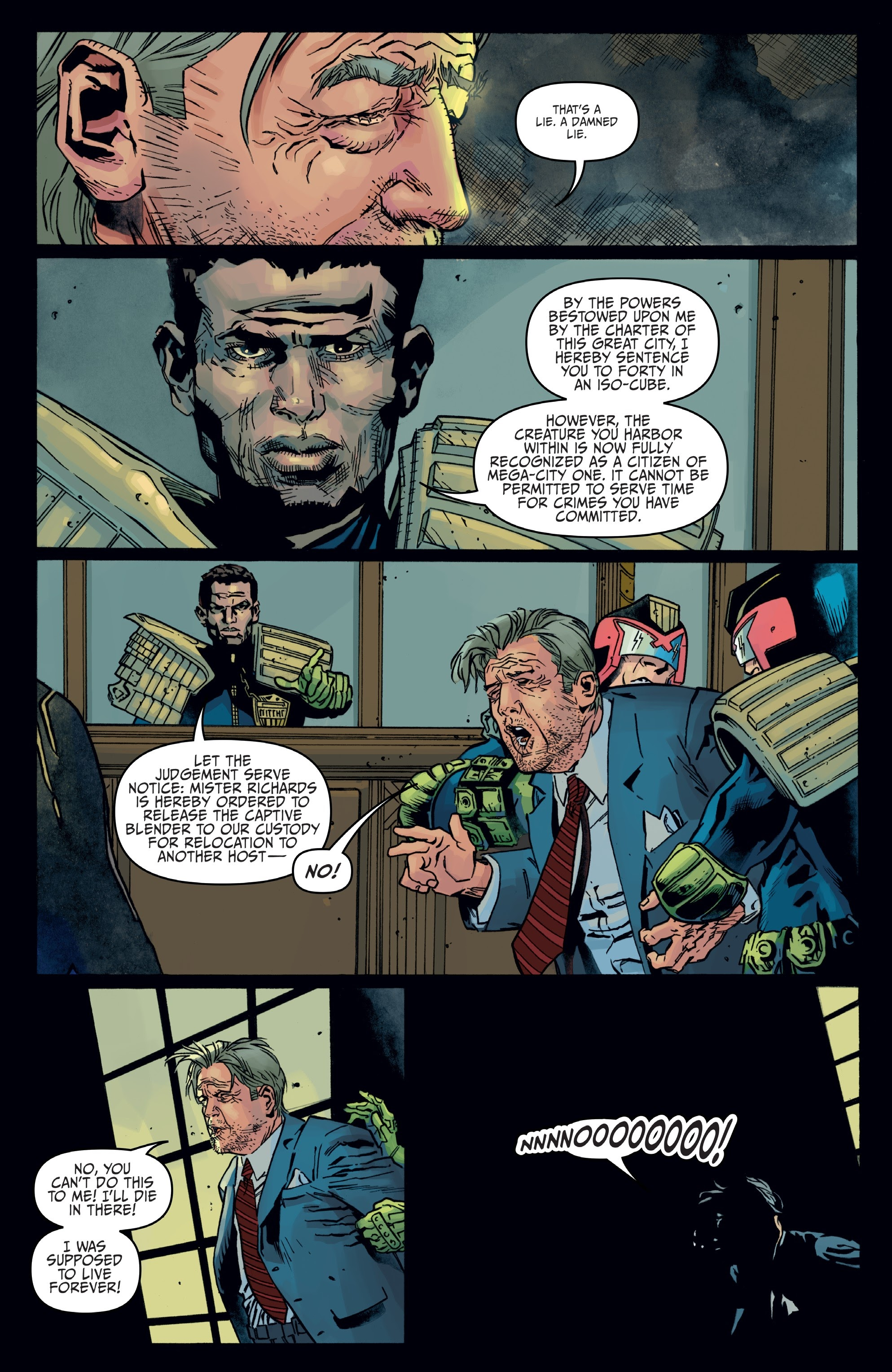 Judge Dredd: Toxic #4 #4 - English 19