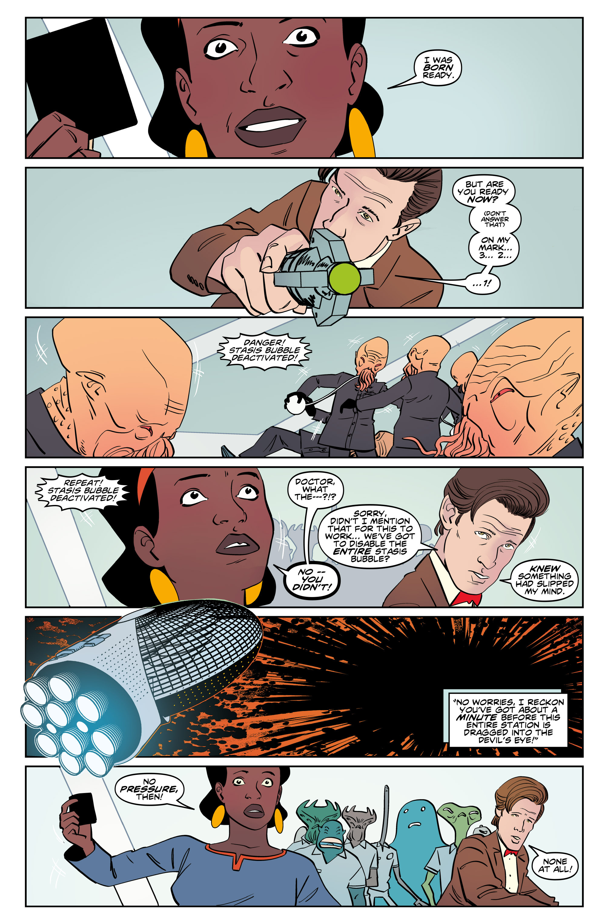 Read online Doctor Who: The Eleventh Doctor Year Three comic -  Issue #5 - 22