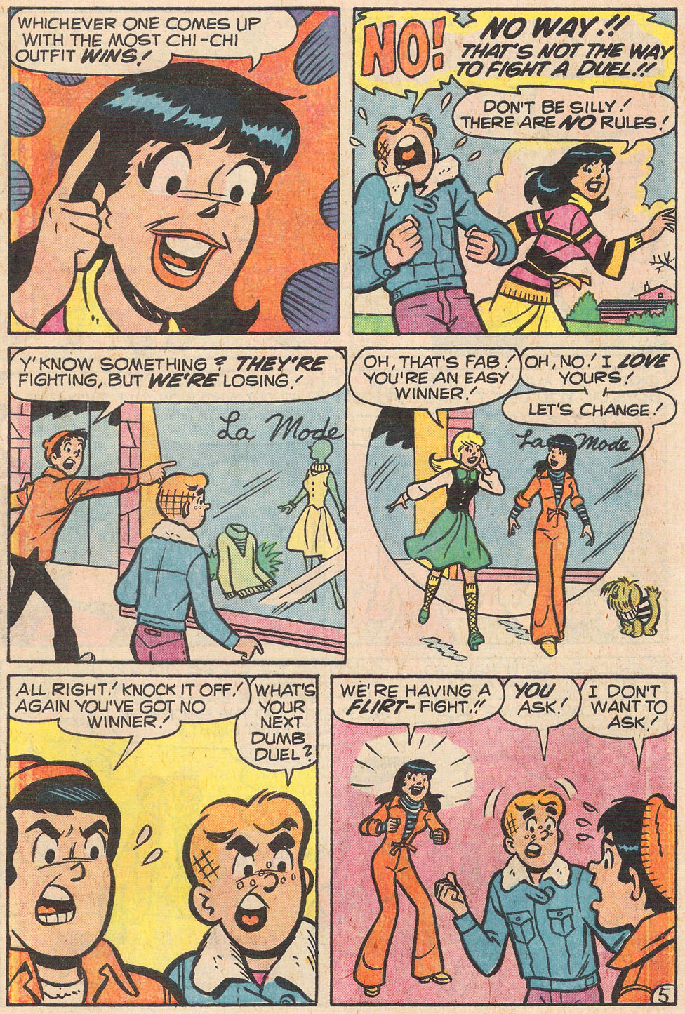Read online Archie's Girls Betty and Veronica comic -  Issue #255 - 7