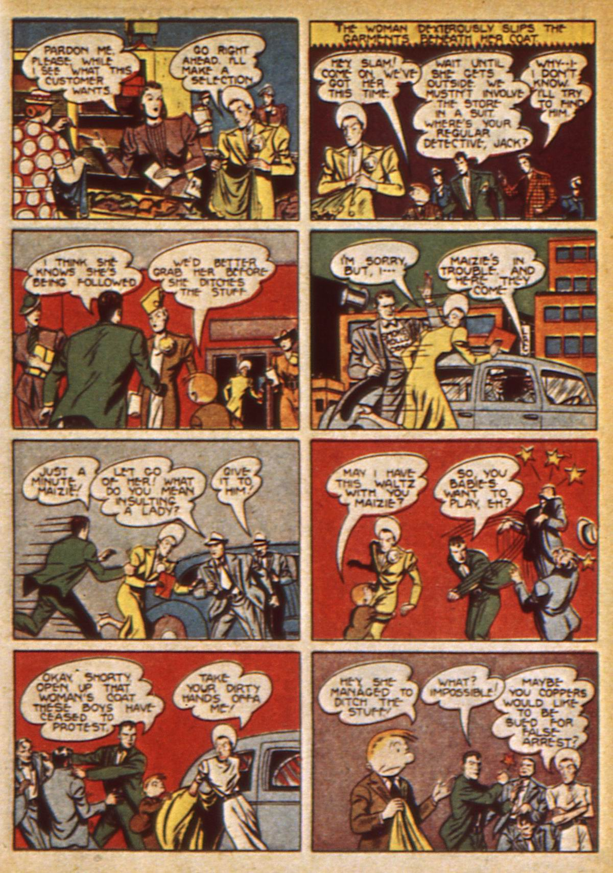 Read online Detective Comics (1937) comic -  Issue #47 - 59