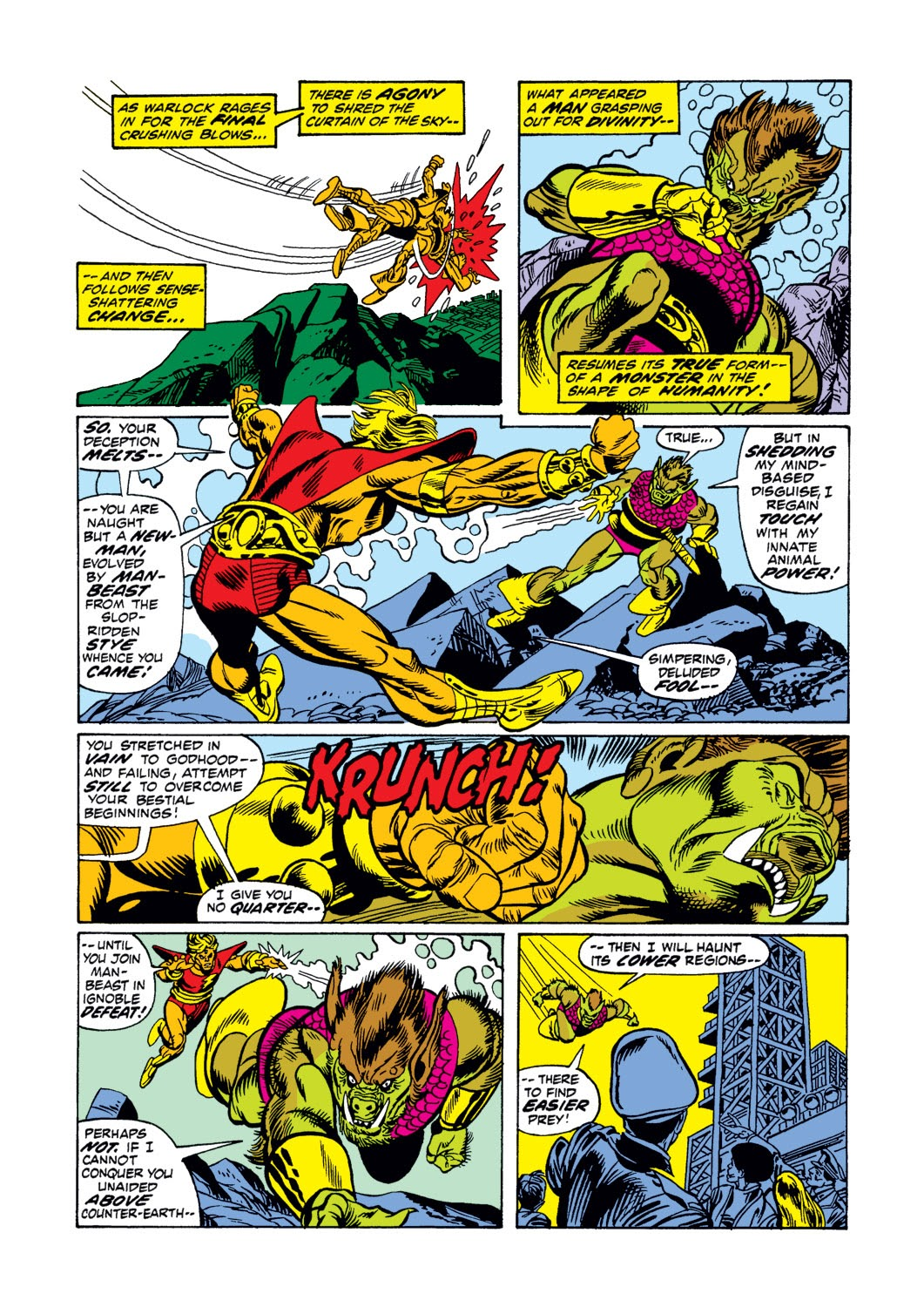 Warlock (1972) issue 3 - Page 19