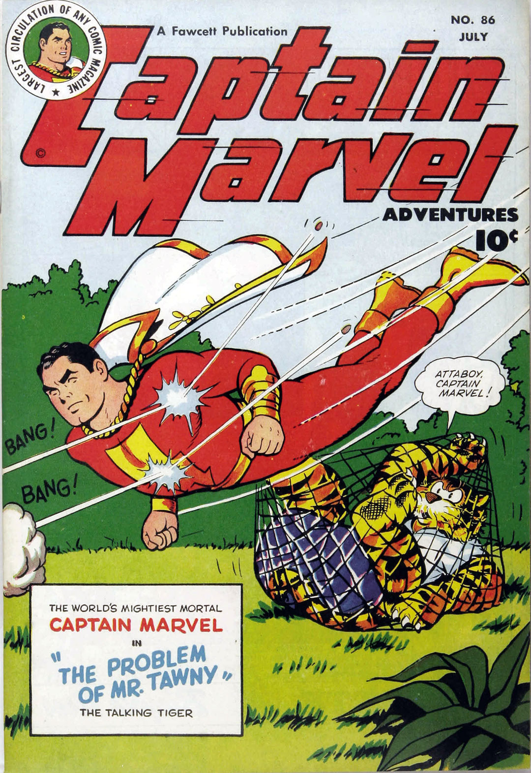 Captain Marvel Adventures issue 86 - Page 1