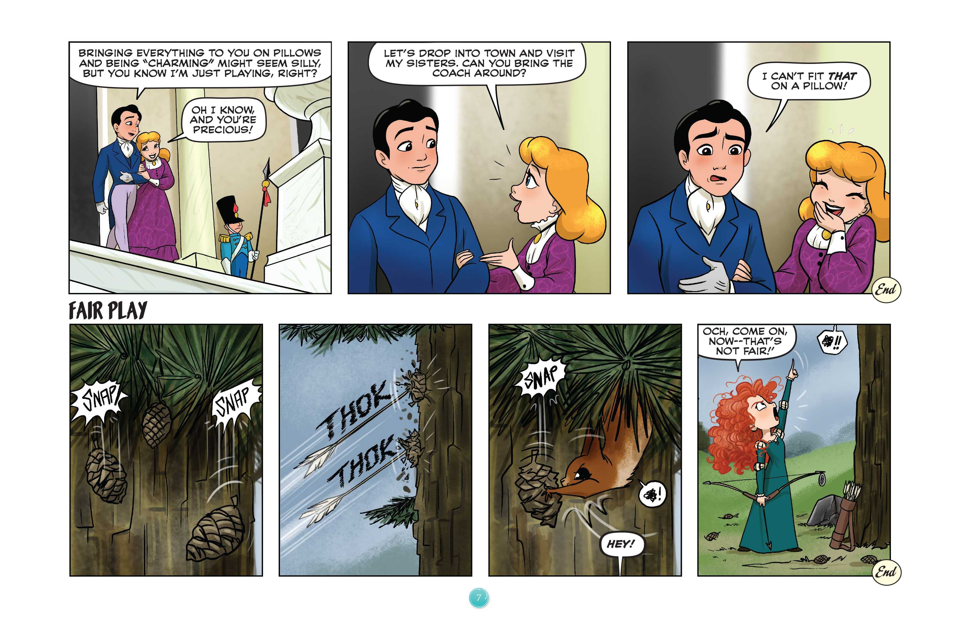 Read online Disney Princess comic -  Issue #8 - 7