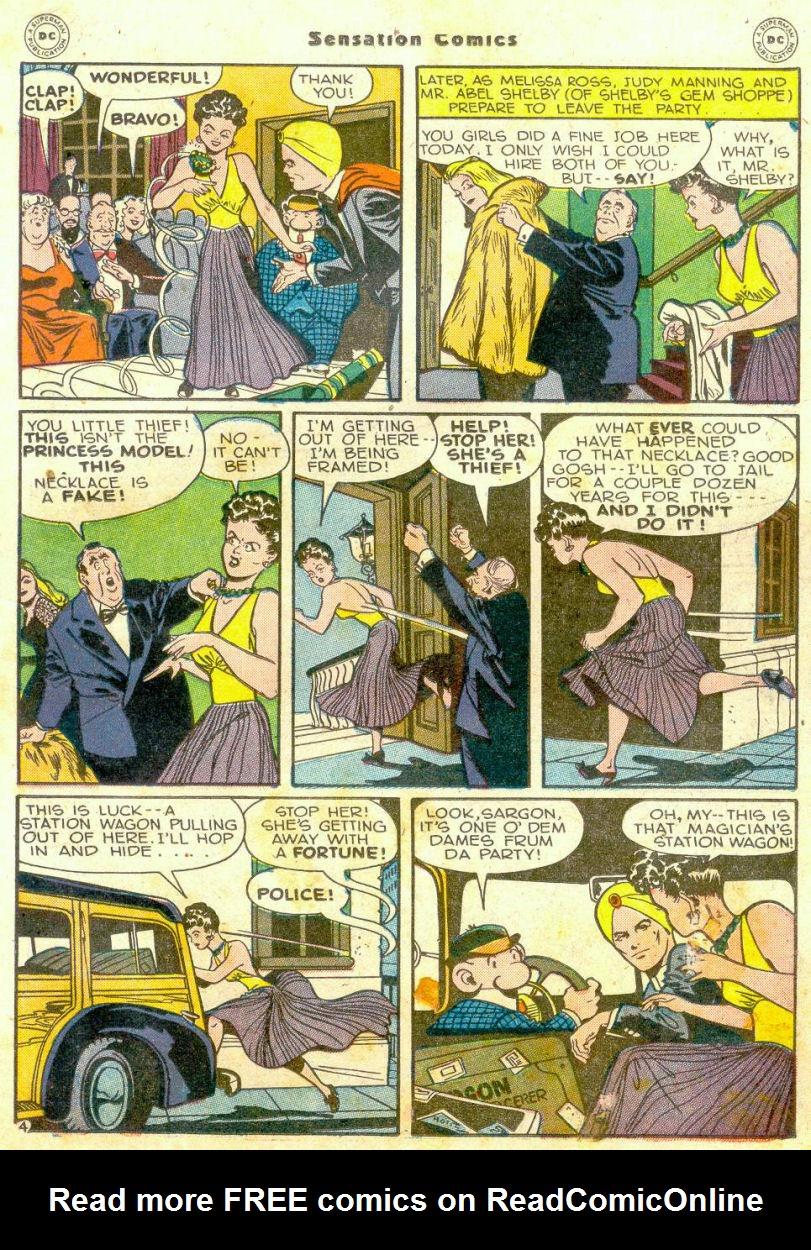 Read online Sensation (Mystery) Comics comic -  Issue #65 - 26
