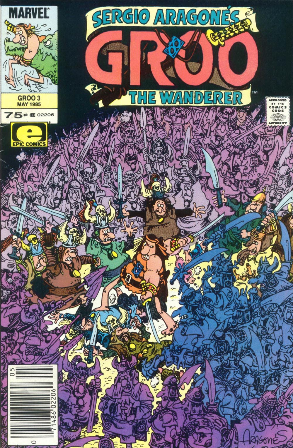 Read online Sergio Aragonés Groo the Wanderer comic -  Issue #3 - 1