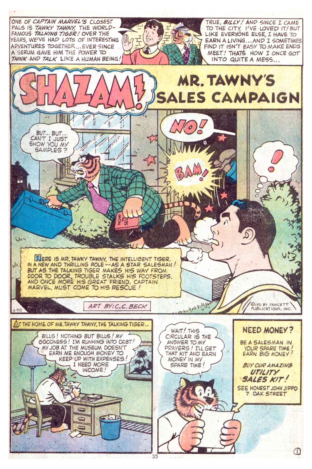 Read online Shazam! (1973) comic -  Issue #13 - 34