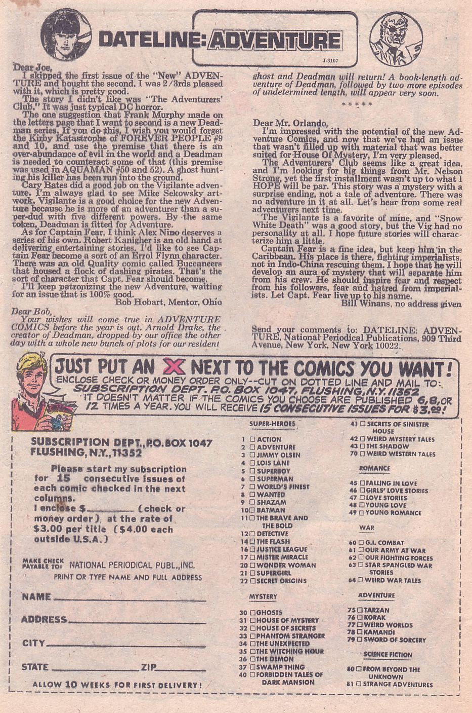 Read online Adventure Comics (1938) comic -  Issue #428 - 28