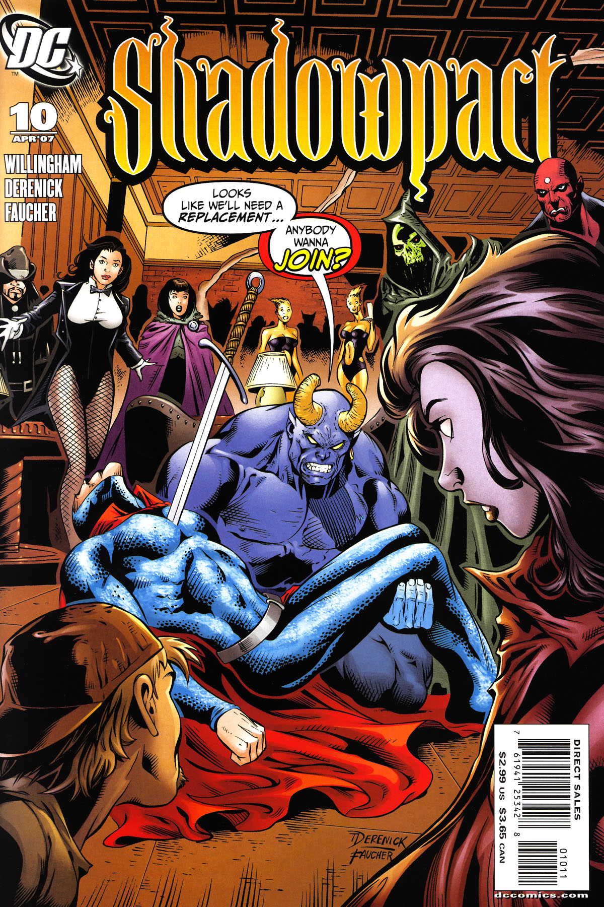 Read online Shadowpact comic -  Issue #10 - 1