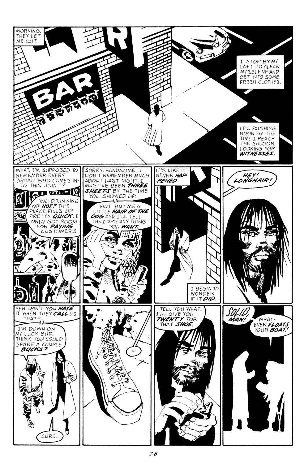 Read online Sin City: Hell and Back comic -  Issue #2 - 29