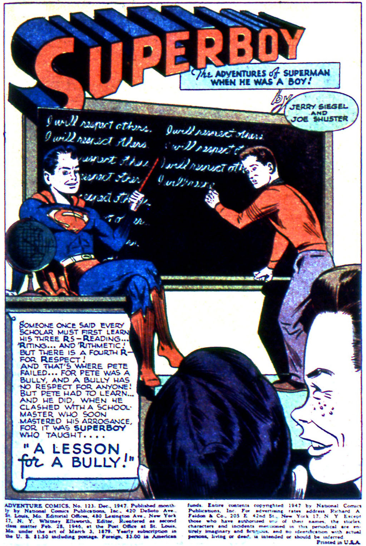 Read online Adventure Comics (1938) comic -  Issue #123 - 3