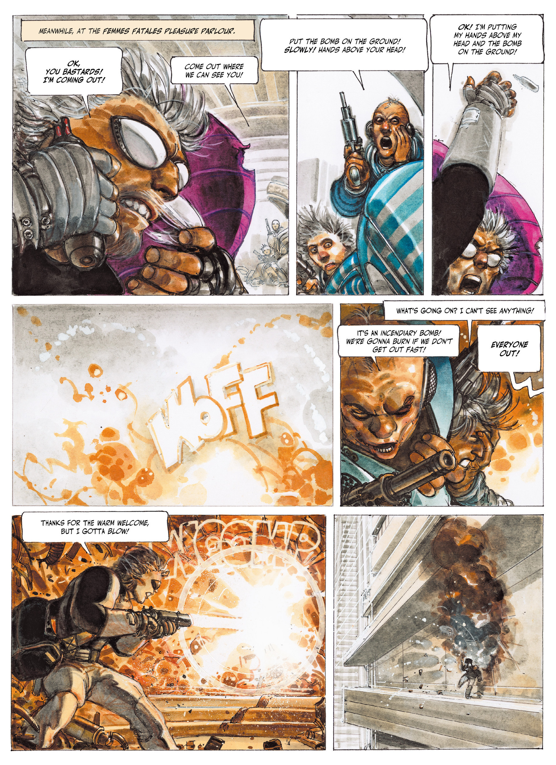 Read online The Fourth Power comic -  Issue #2 - 13