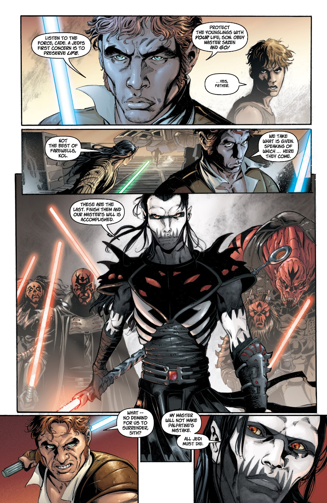 Read online Star Wars Legends: Legacy - Epic Collection comic -  Issue # TPB 1 (Part 1) - 9