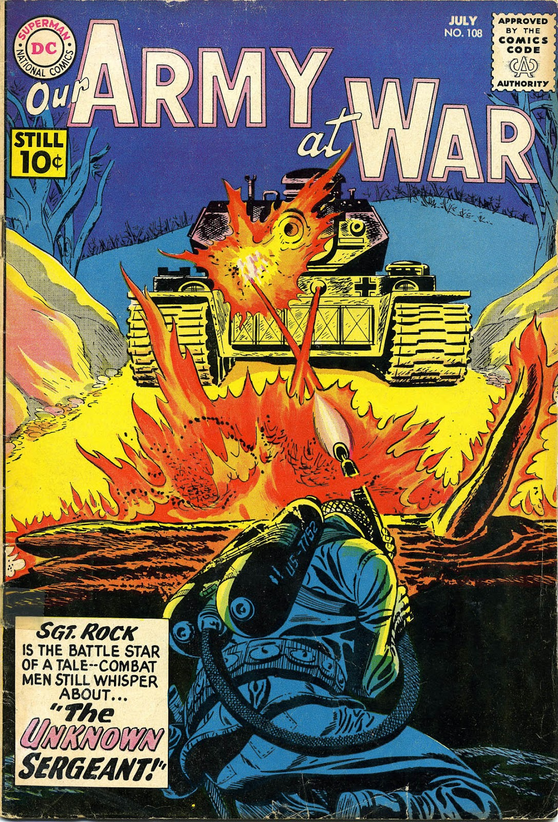 Our Army at War (1952) issue 108 - Page 1