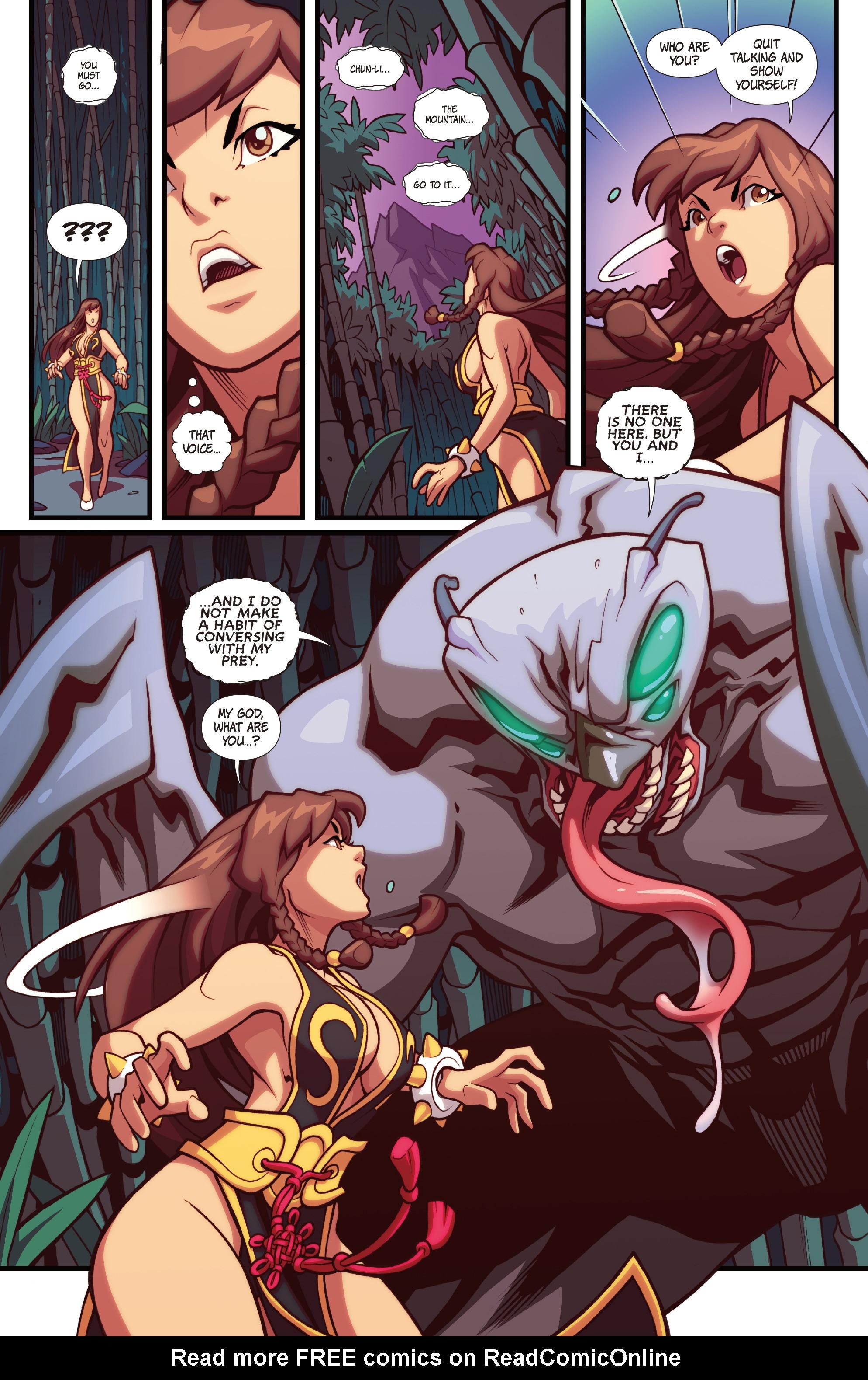 Read online Street Fighter VS Darkstalkers comic -  Issue #1 - 4