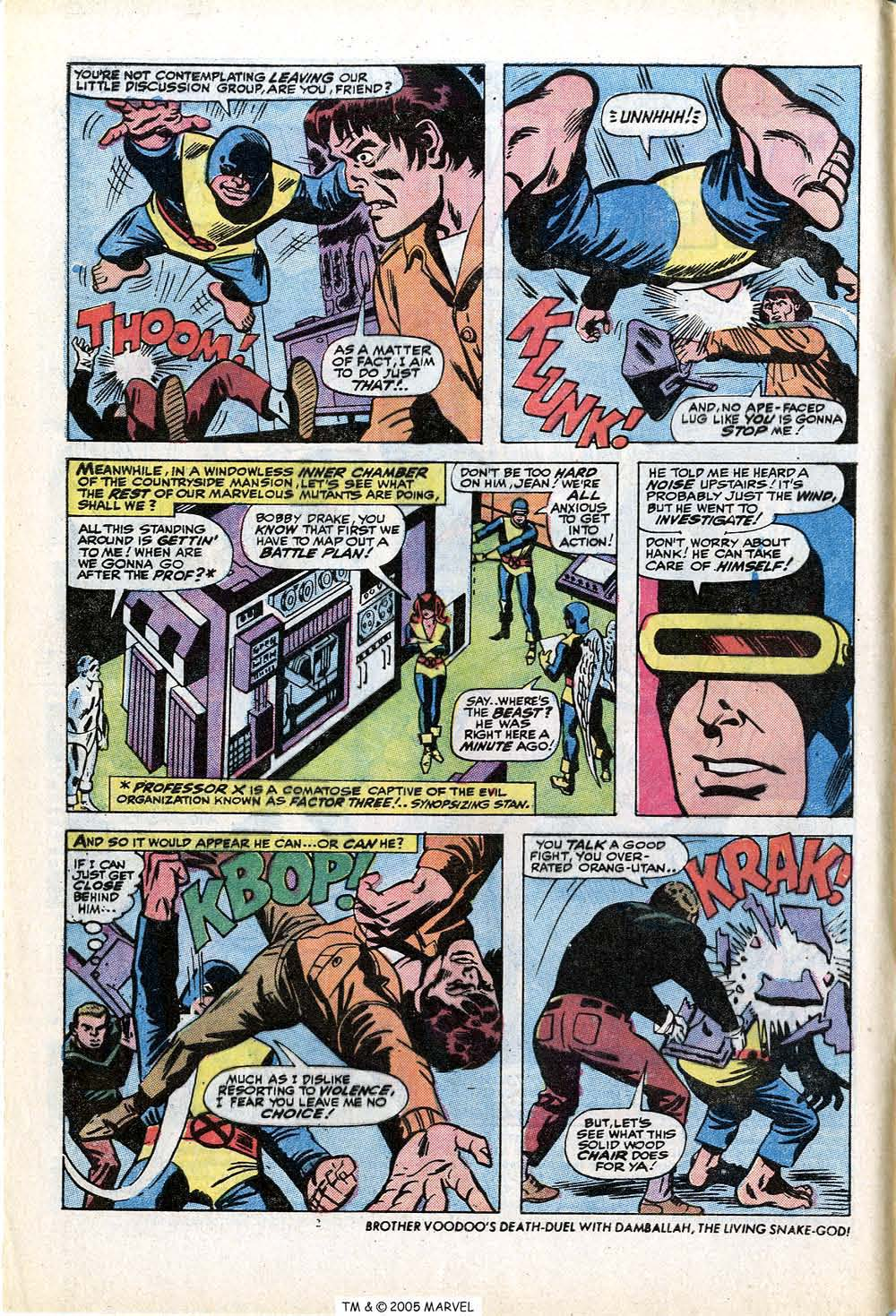 Read online Uncanny X-Men (1963) comic -  Issue #84 - 4