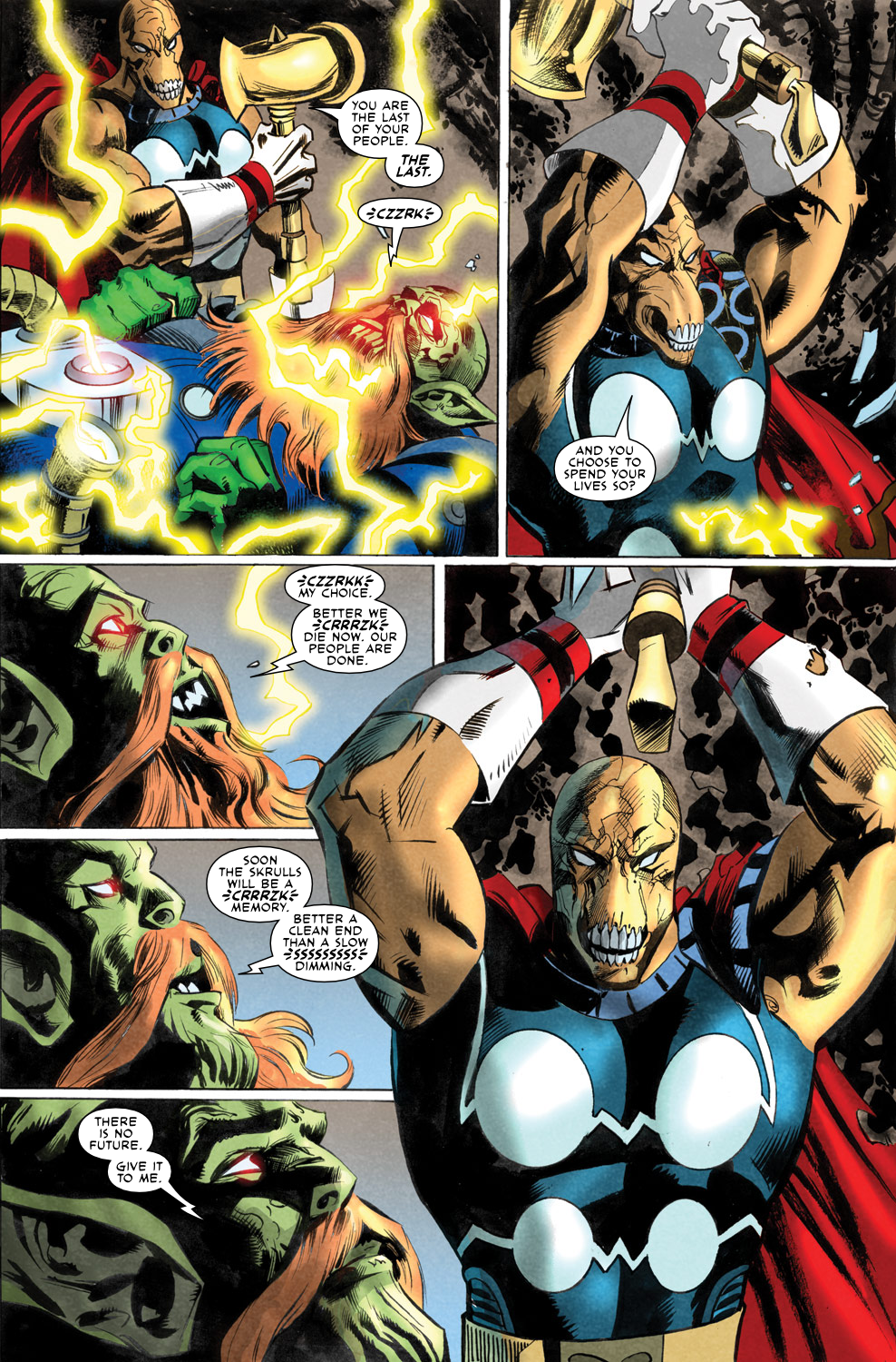 Read online Secret Invasion Aftermath: Beta Ray Bill - The Green of Eden comic -  Issue # Full - 29