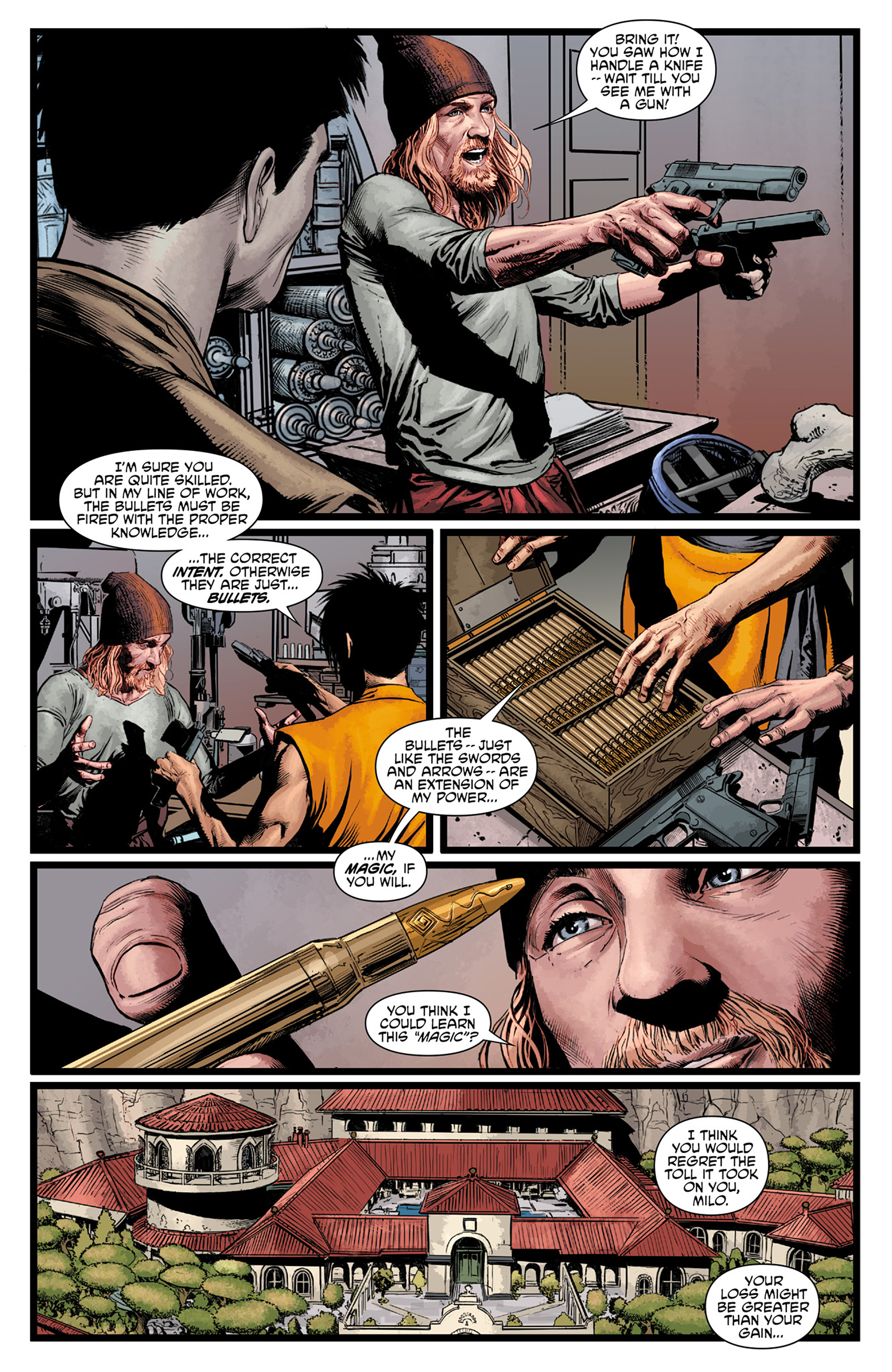 Read online King Tiger comic -  Issue #1 - 10